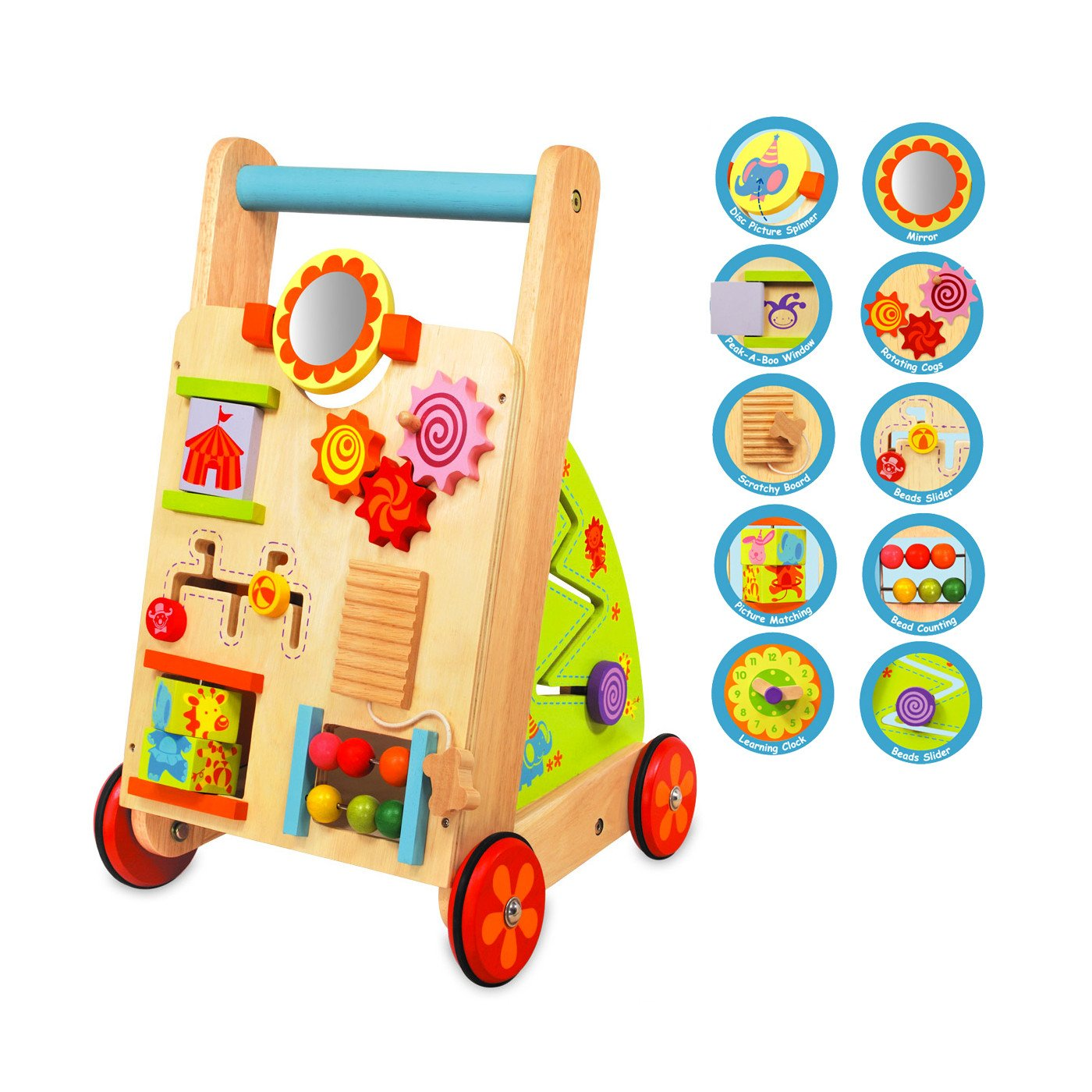 Im Toy Wooden Activity Baby Walker Im Toy Activity Toys at Little Earth Nest Eco Shop