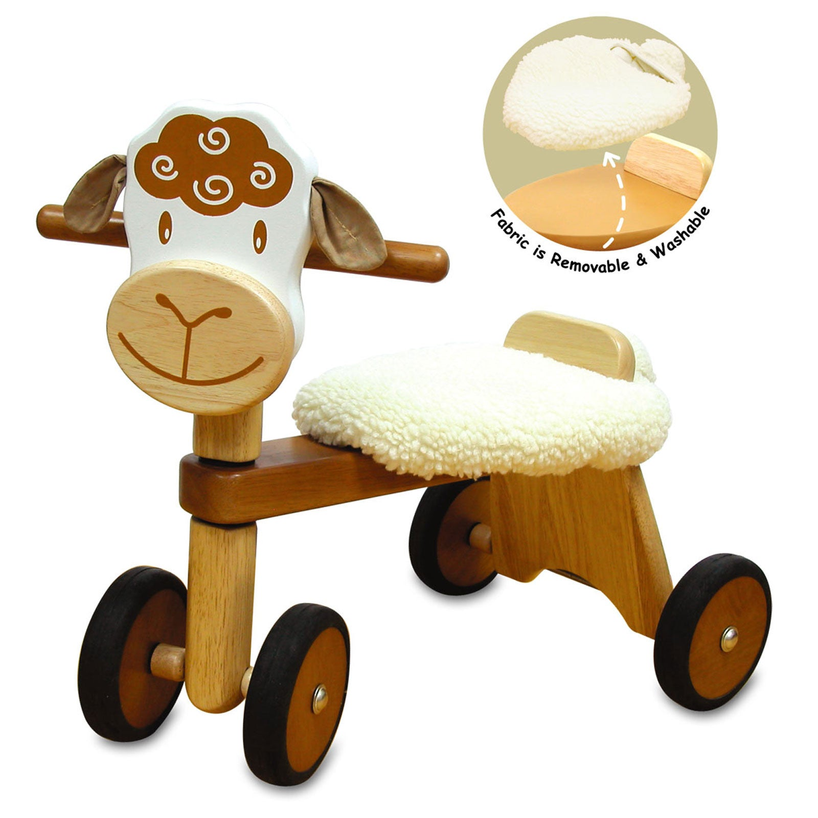Lambie Padding Rider Ride-On Lamb   - Im Toy - Little Earth Nest