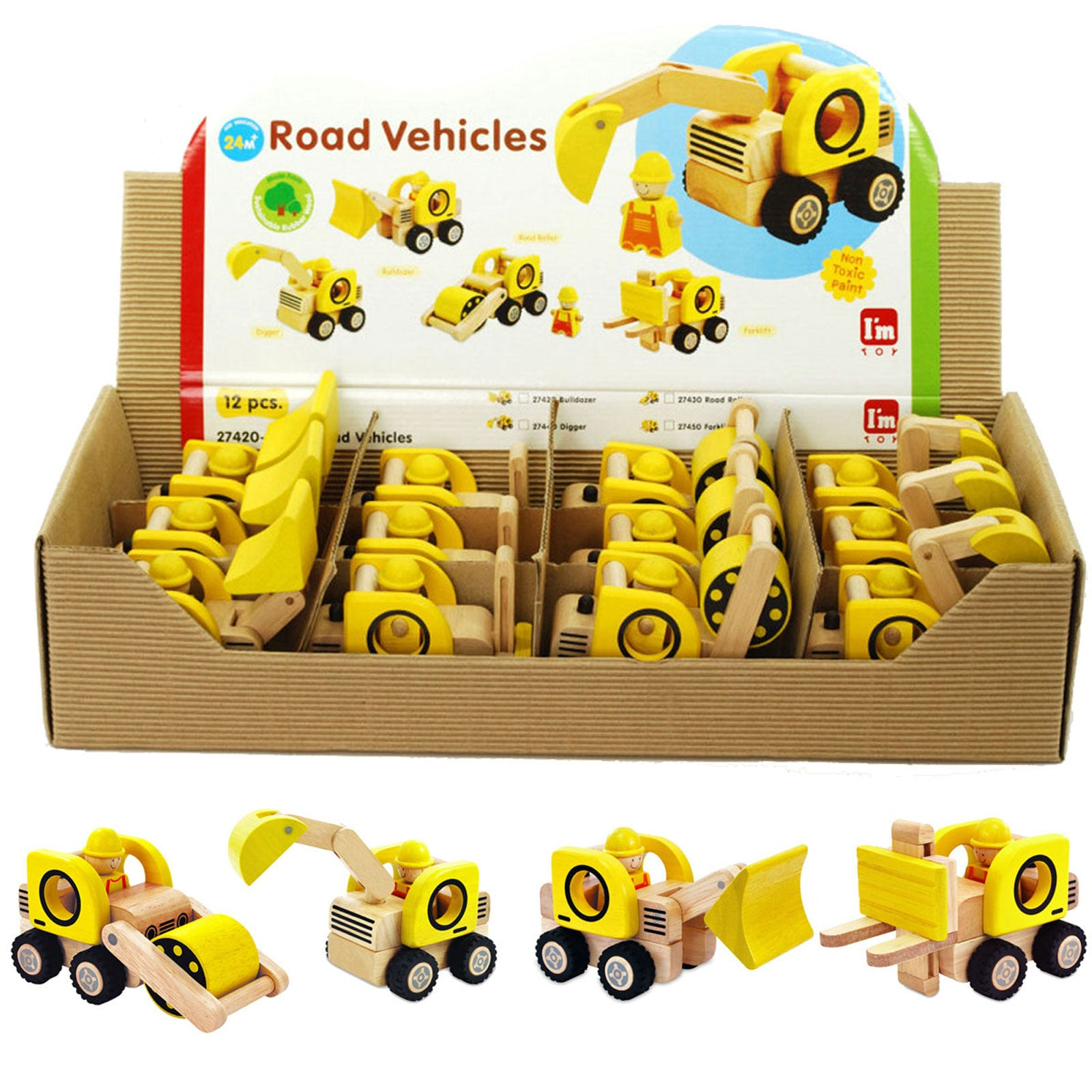 I'm Toy Road Vehicles Im Toy Play Vehicles at Little Earth Nest Eco Shop