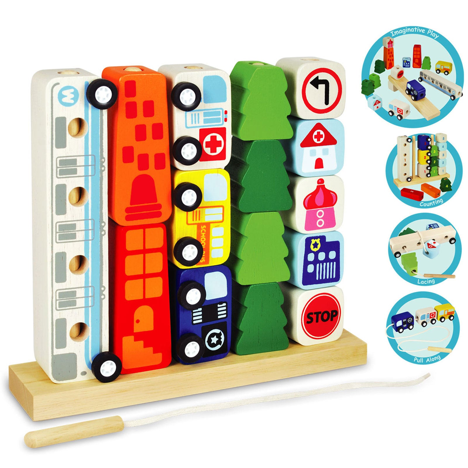 I'm Toy Sort and Count City Im Toy Activity Toys at Little Earth Nest Eco Shop