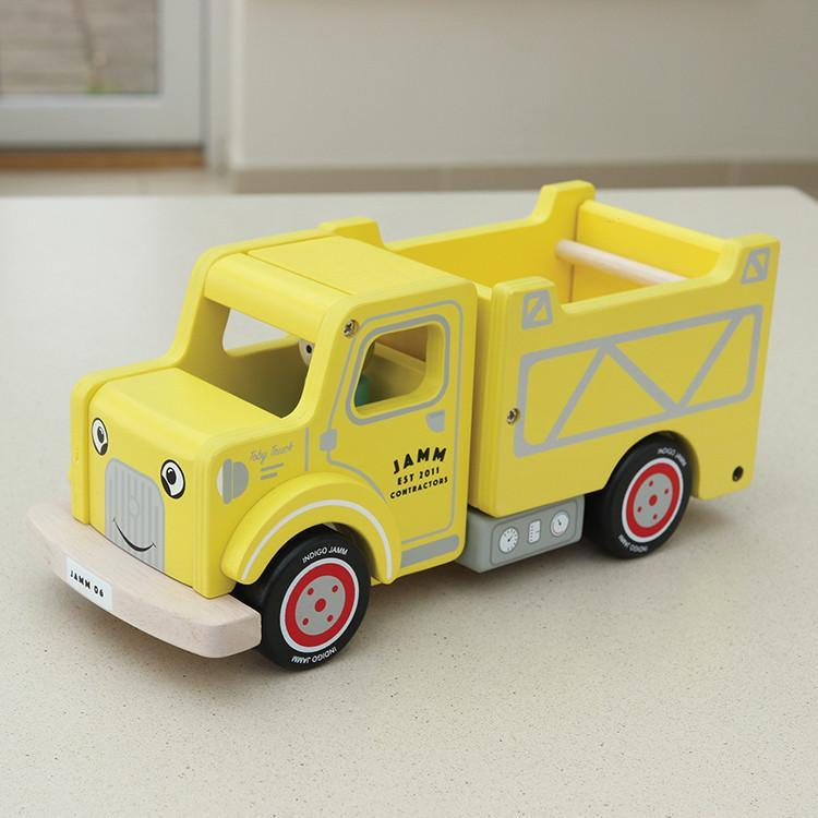 Indigo Jamm Toby Truck Indigo Jamm Toy Cars at Little Earth Nest Eco Shop