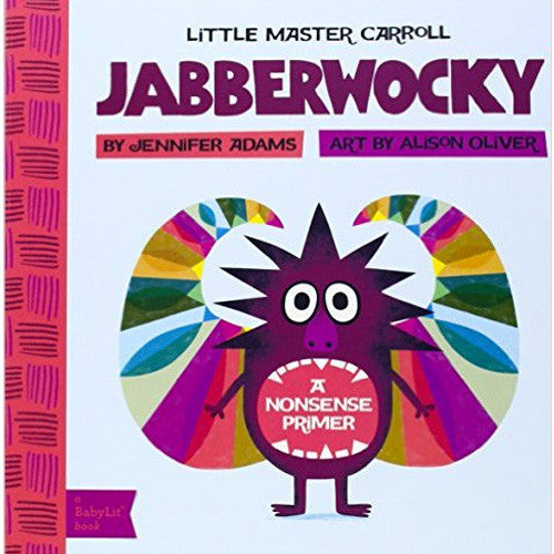 Jabberwocky Baby Board Book Babylit Books at Little Earth Nest Eco Shop