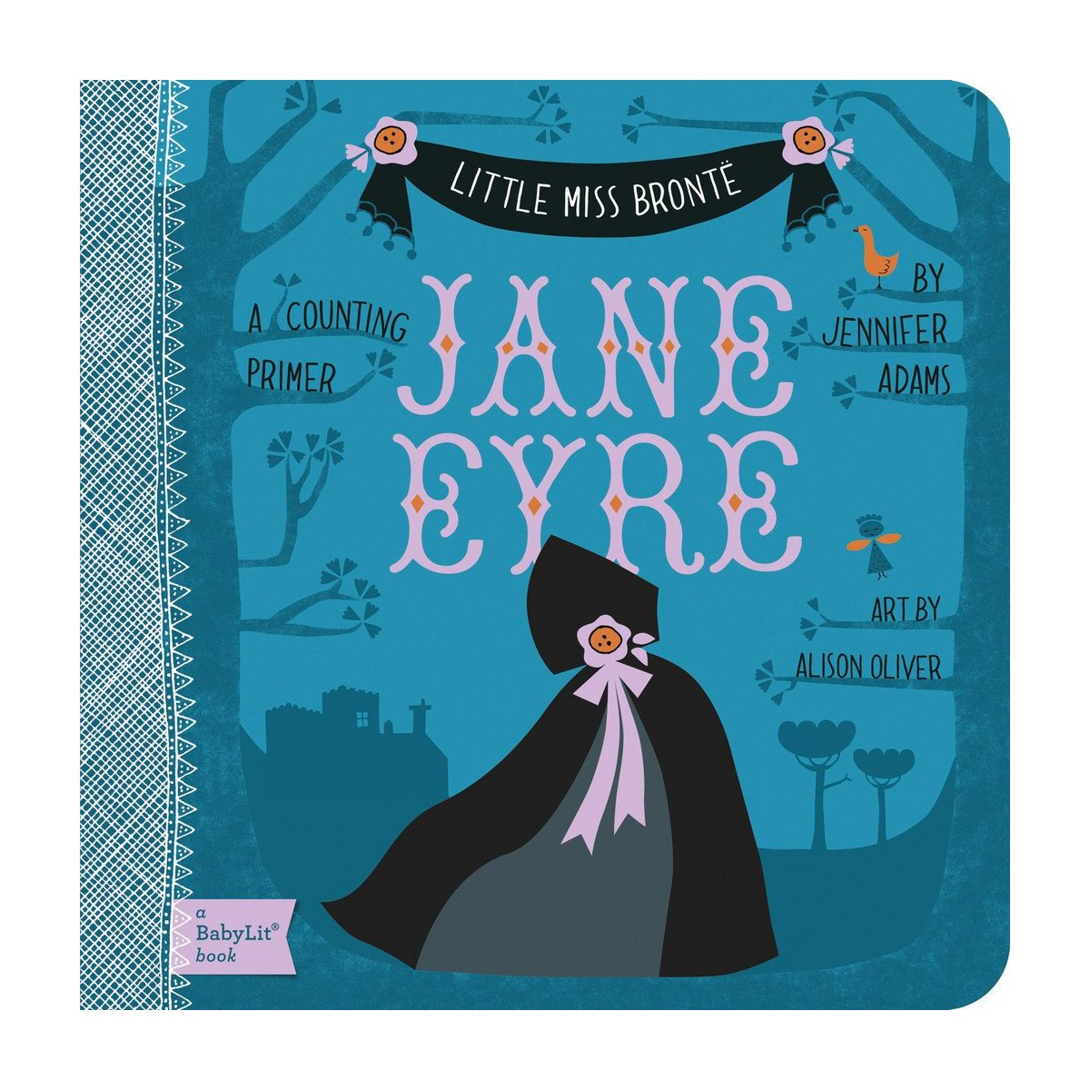 Jane Eyre Baby Board Book Babylit Books at Little Earth Nest Eco Shop