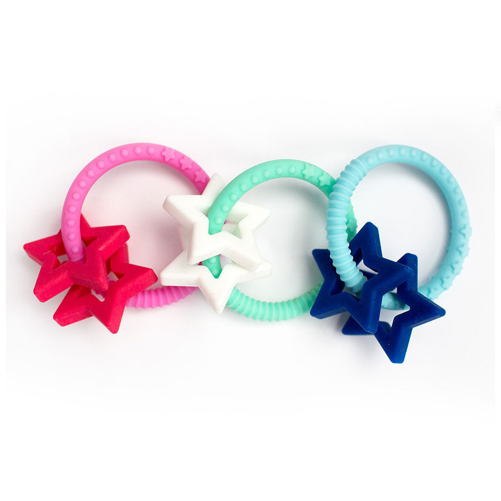 Jellystone Designs Star Teether Jellystone Designs Dummies and Teethers at Little Earth Nest Eco Shop