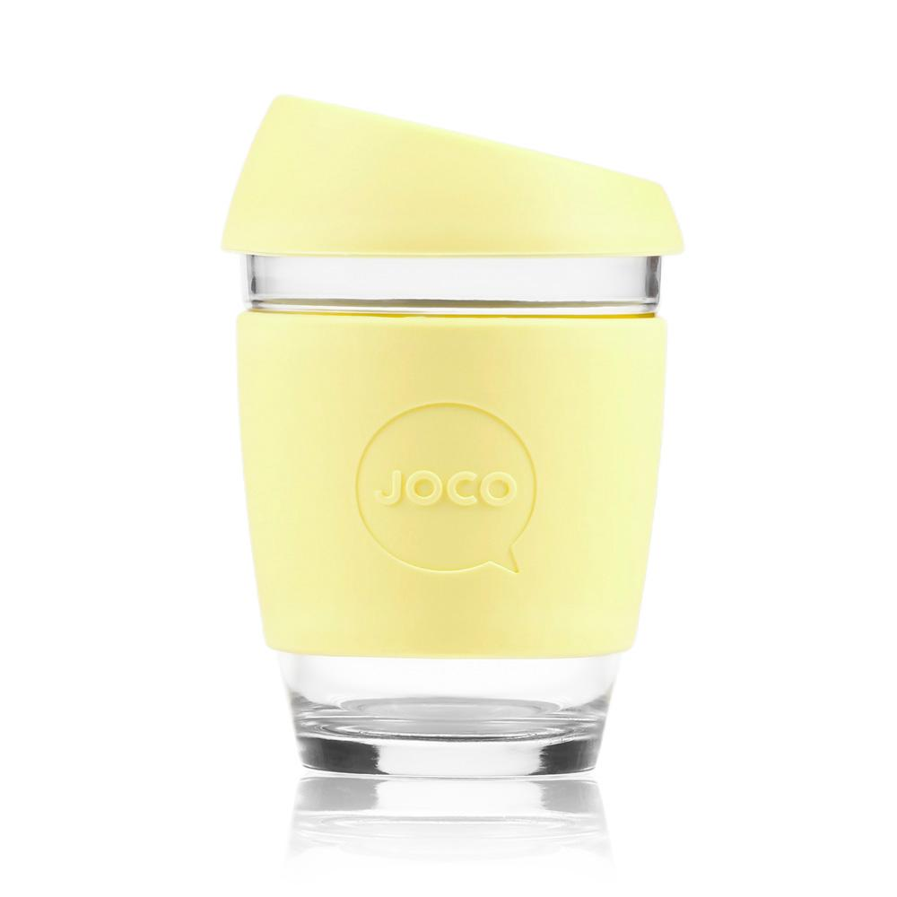 Joco Cup Reusable Glass Cup 12oz Joco Coffee & Tea Cups at Little Earth Nest Eco Shop