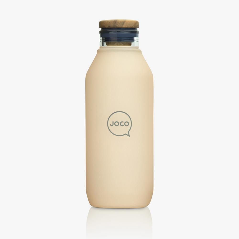 Joco Flask 20oz Velvet Grip Joco Water Bottles Amberlight at Little Earth Nest Eco Shop