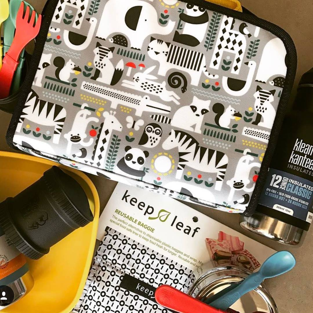 Keep Leaf Reusable Lunch Bags Keep Leaf Lunch Boxes and Bags at Little Earth Nest Eco Shop