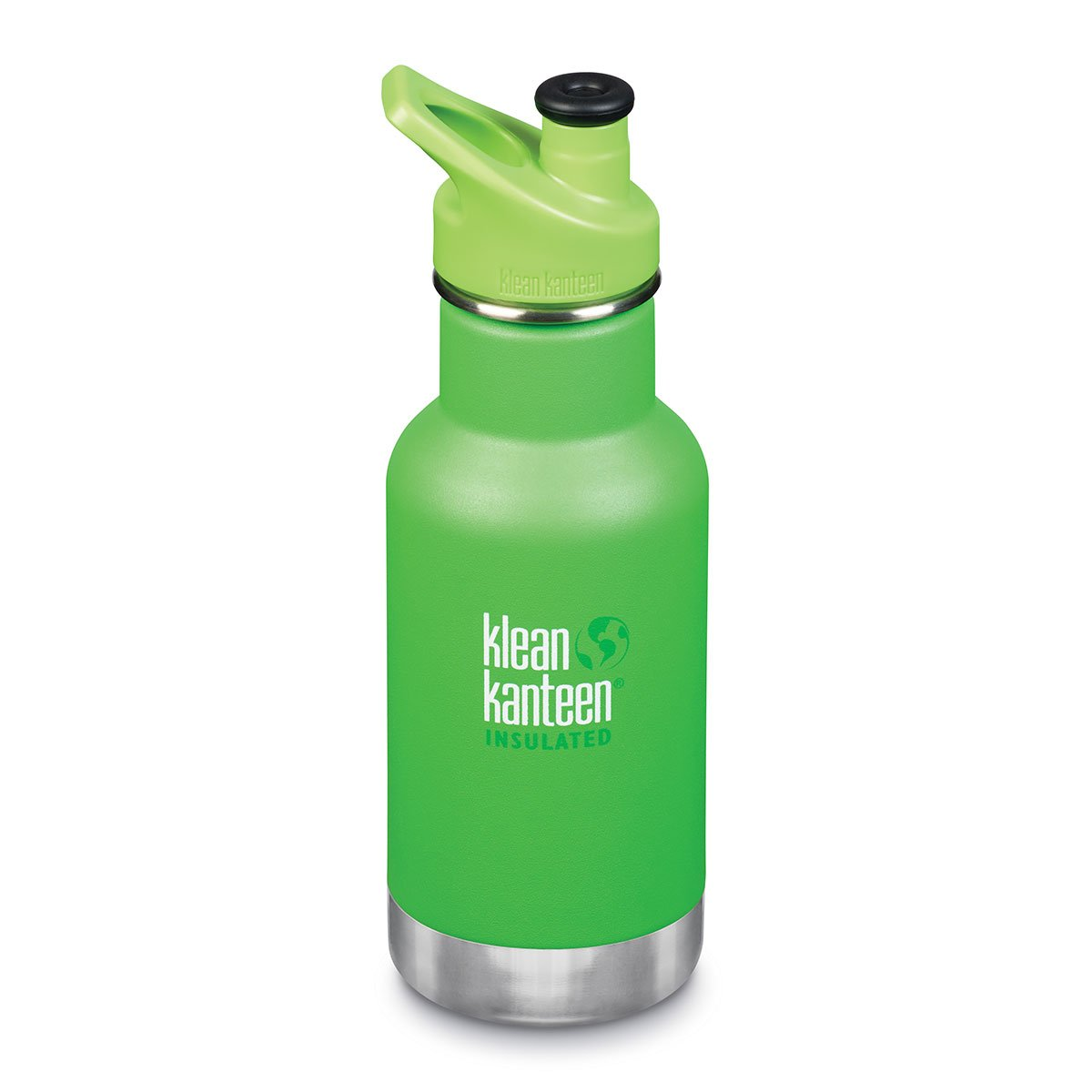 Klean Kanteen Kids Insulated Drink Bottle 12oz Klean Kanteen Water Bottles Lizard Tails at Little Earth Nest Eco Shop