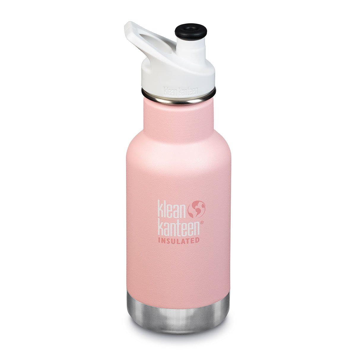 Klean Kanteen Kids Insulated Drink Bottle 12oz Klean Kanteen Water Bottles Ballet Slipper at Little Earth Nest Eco Shop