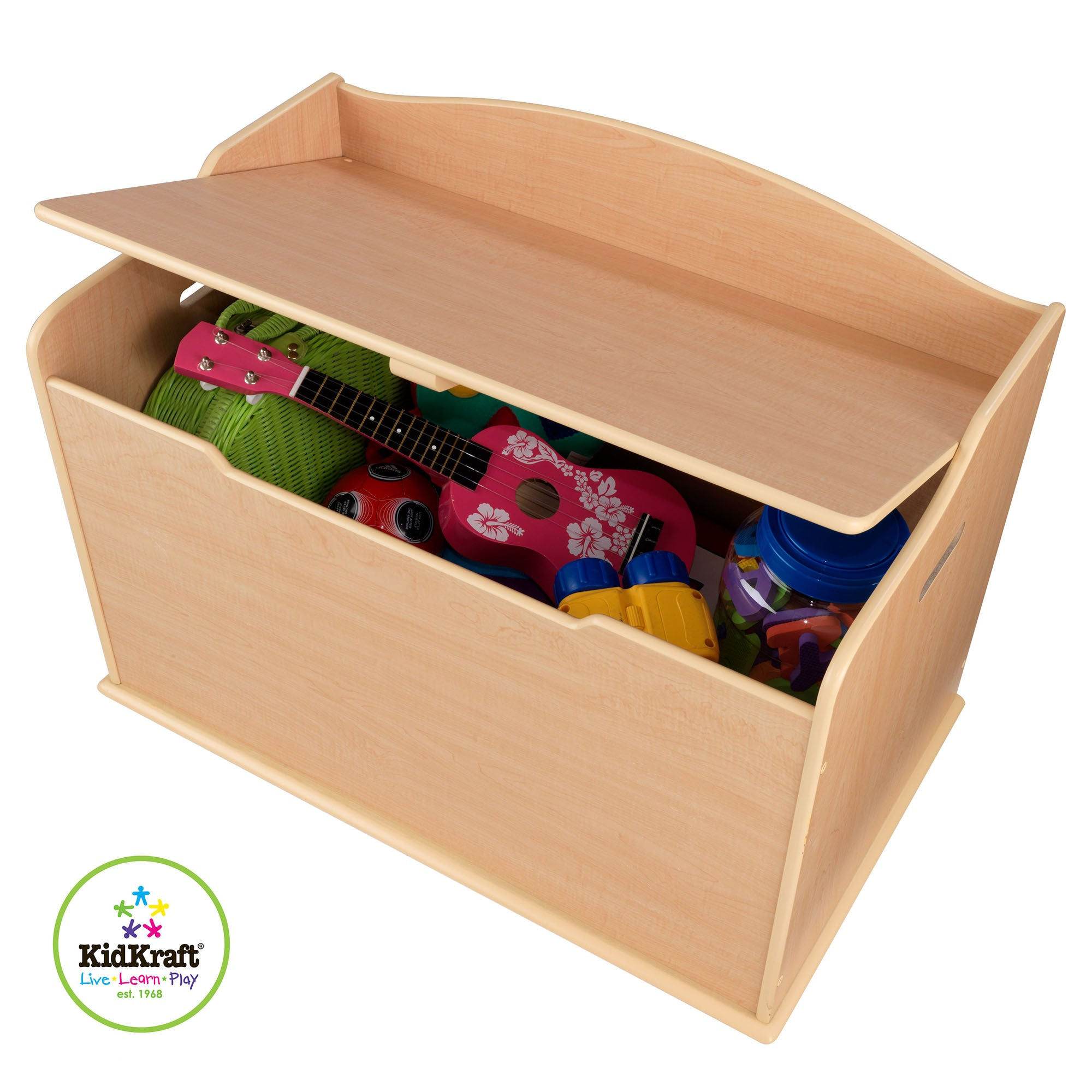 Kidkraft Austin Toy Box White   - Kidkraft - Little Earth Nest - 3