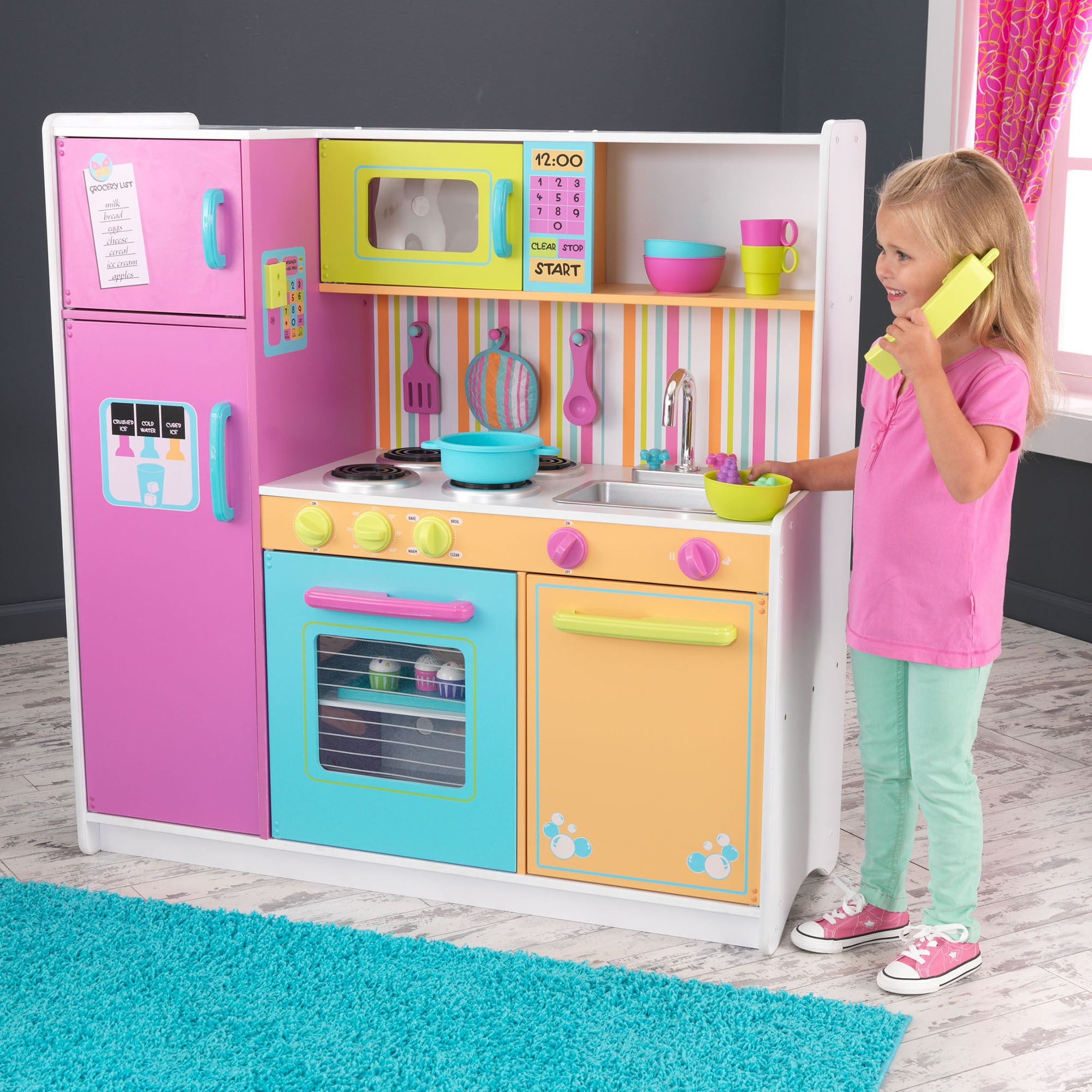 Kidkraft Big and Bright Kitchen for Kids Kidkraft Toy Kitchens & Play Food at Little Earth Nest Eco Shop