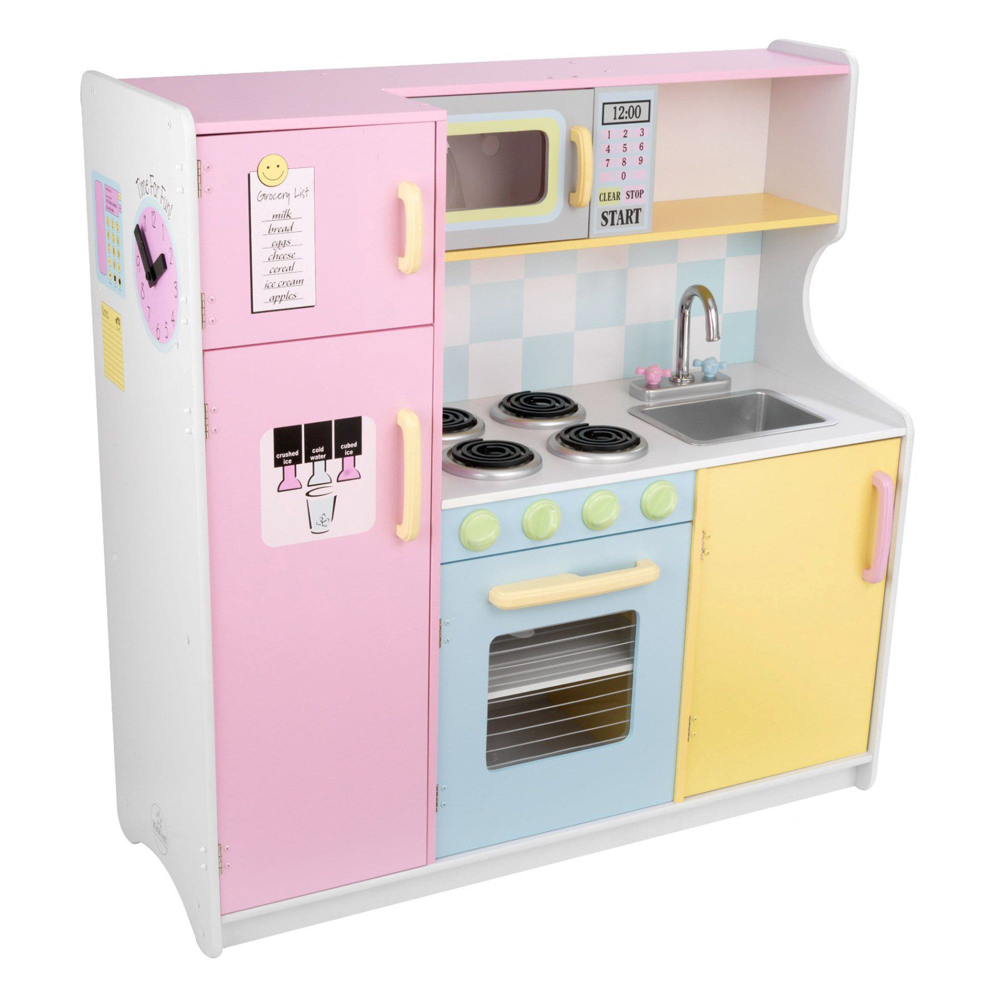 Kidkraft Large and Pastel Kitchen for Kids   - Kidkraft - Little Earth Nest