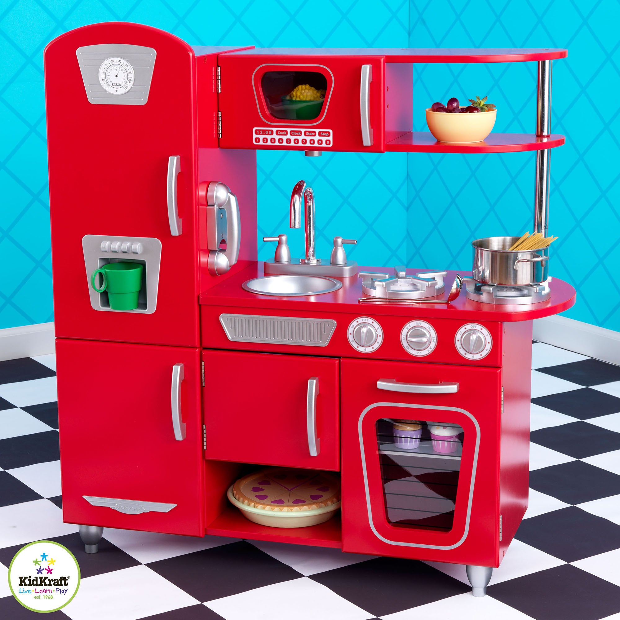 Kidkraft Retro Kitchen kidkraft retro kitchen. image of retro kitchen appliance colors