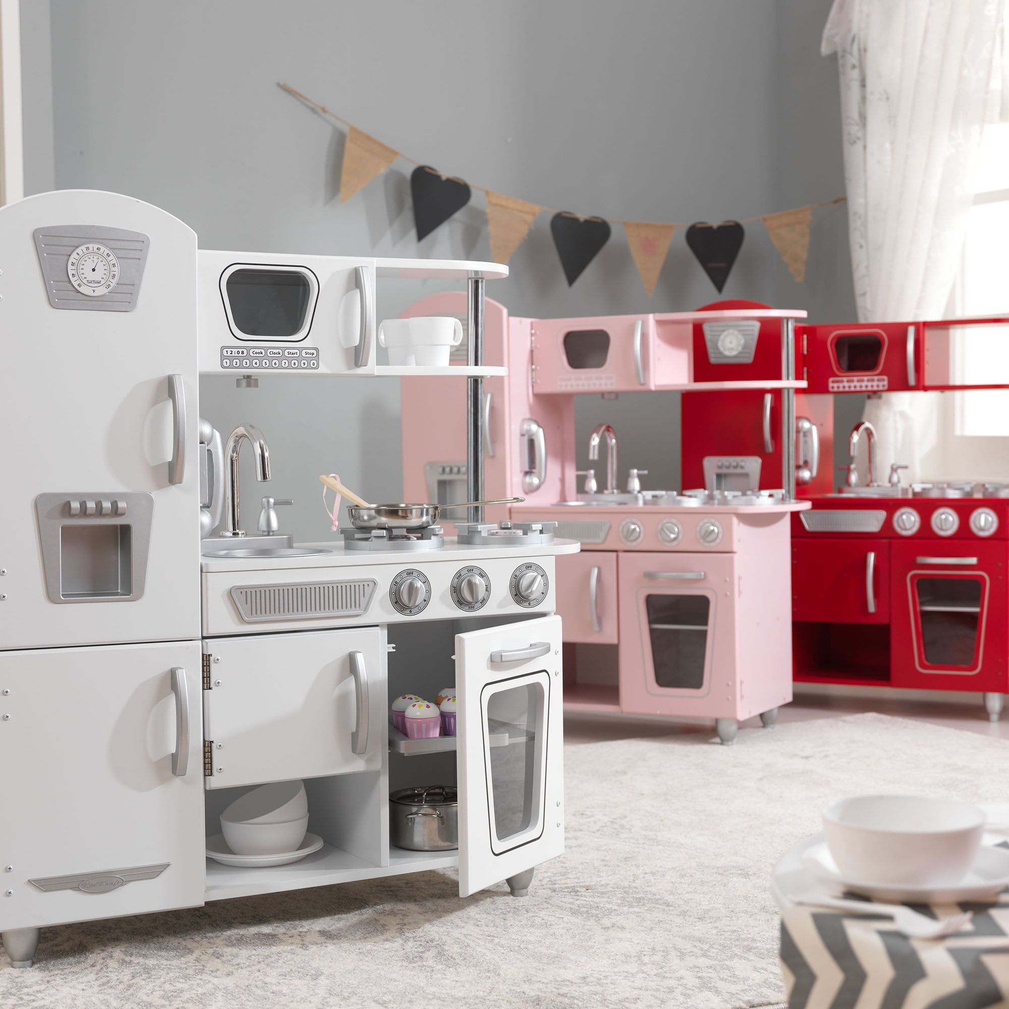 Kidkraft Retro Kitchen for Kids Kidkraft Toy Kitchens & Play Food at Little Earth Nest Eco Shop