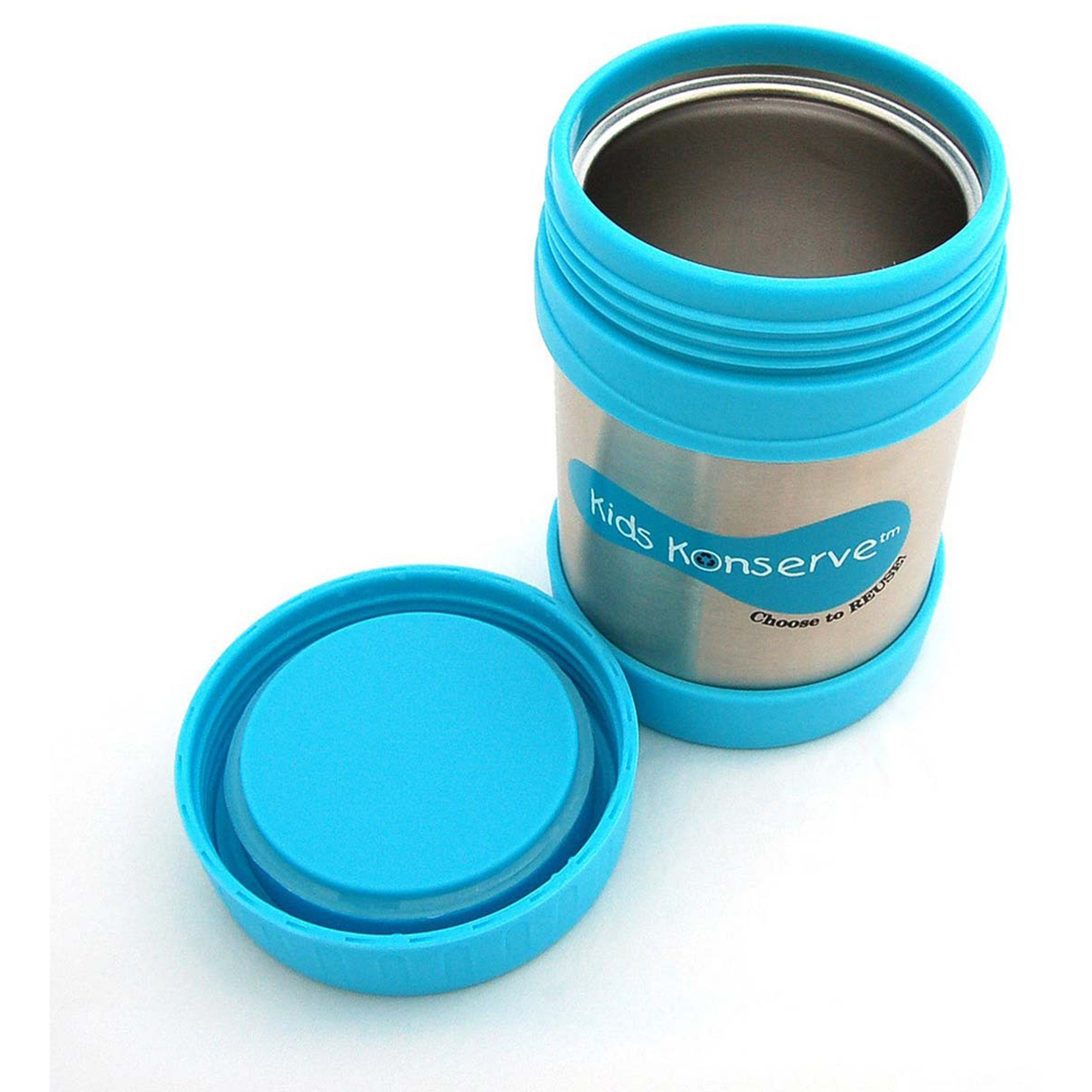 Kids Konserve Insulated Food Jar  Sky - Kids Konserve - Little Earth Nest - 7