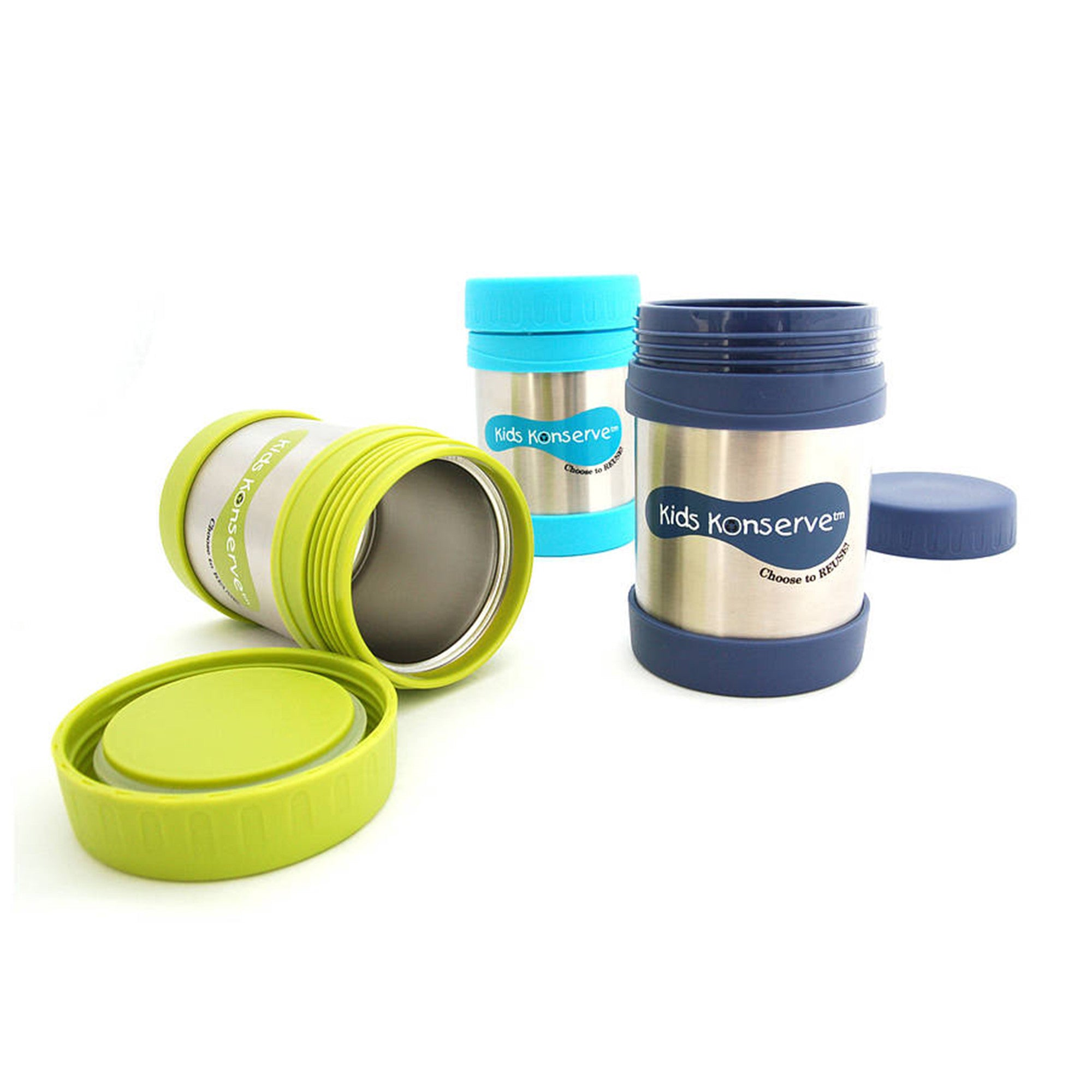 Kids Konserve Insulated Food Jar Kids Konserve Thermoses at Little Earth Nest Eco Shop
