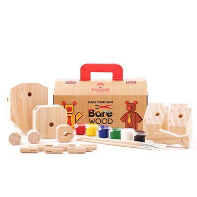 Kipod Bare Wood Kipod Art and Craft Kits at Little Earth Nest Eco Shop