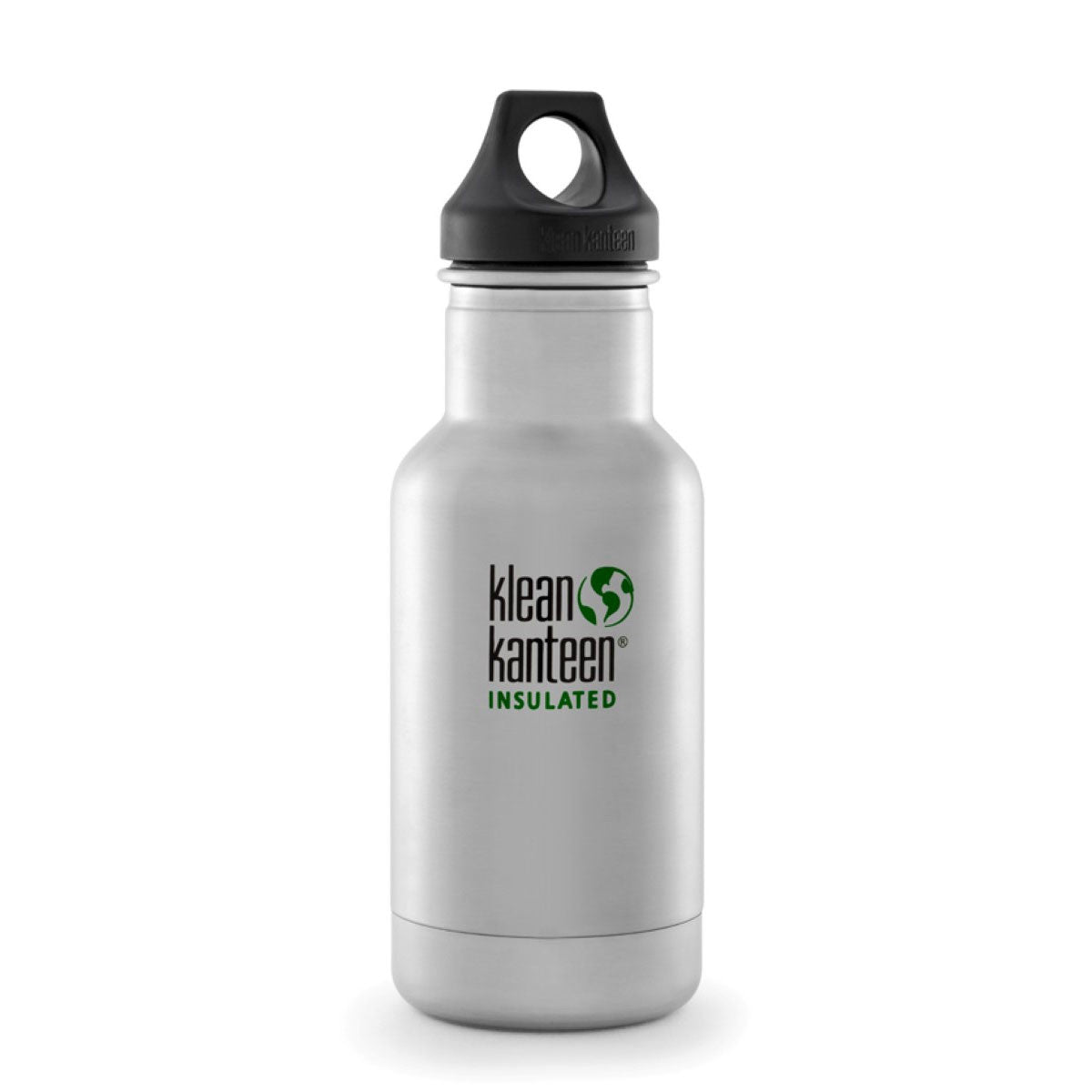 Klean Kanteen Stainless Steel Insulated Classic Water Bottle  355ml 12oz / Brushed Stainless - Klean Kanteen - Little Earth Nest - 8