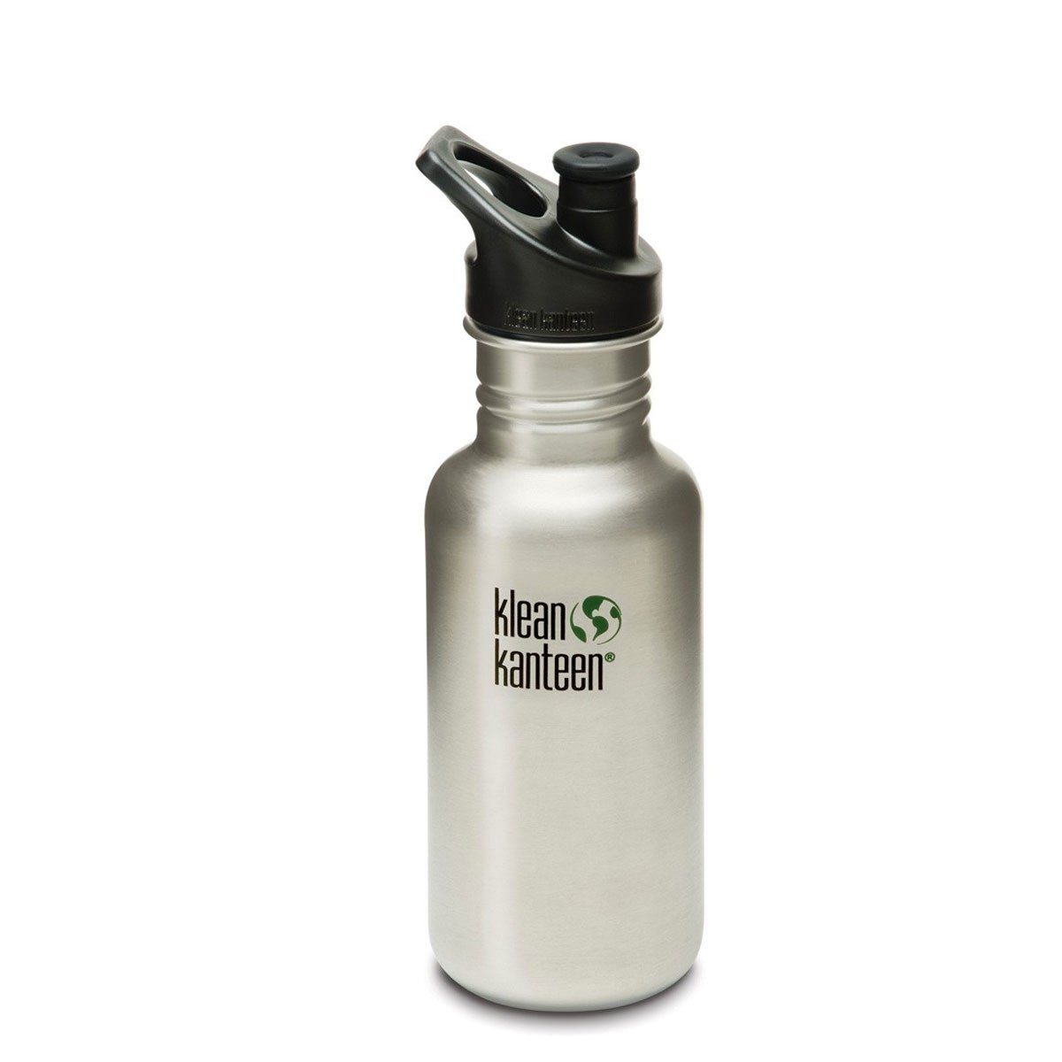 Klean Kanteen Stainless Steel Classic Water Bottle Klean Kanteen Water Bottles 532ml 18oz / Brushed Stainless at Little Earth Nest Eco Shop
