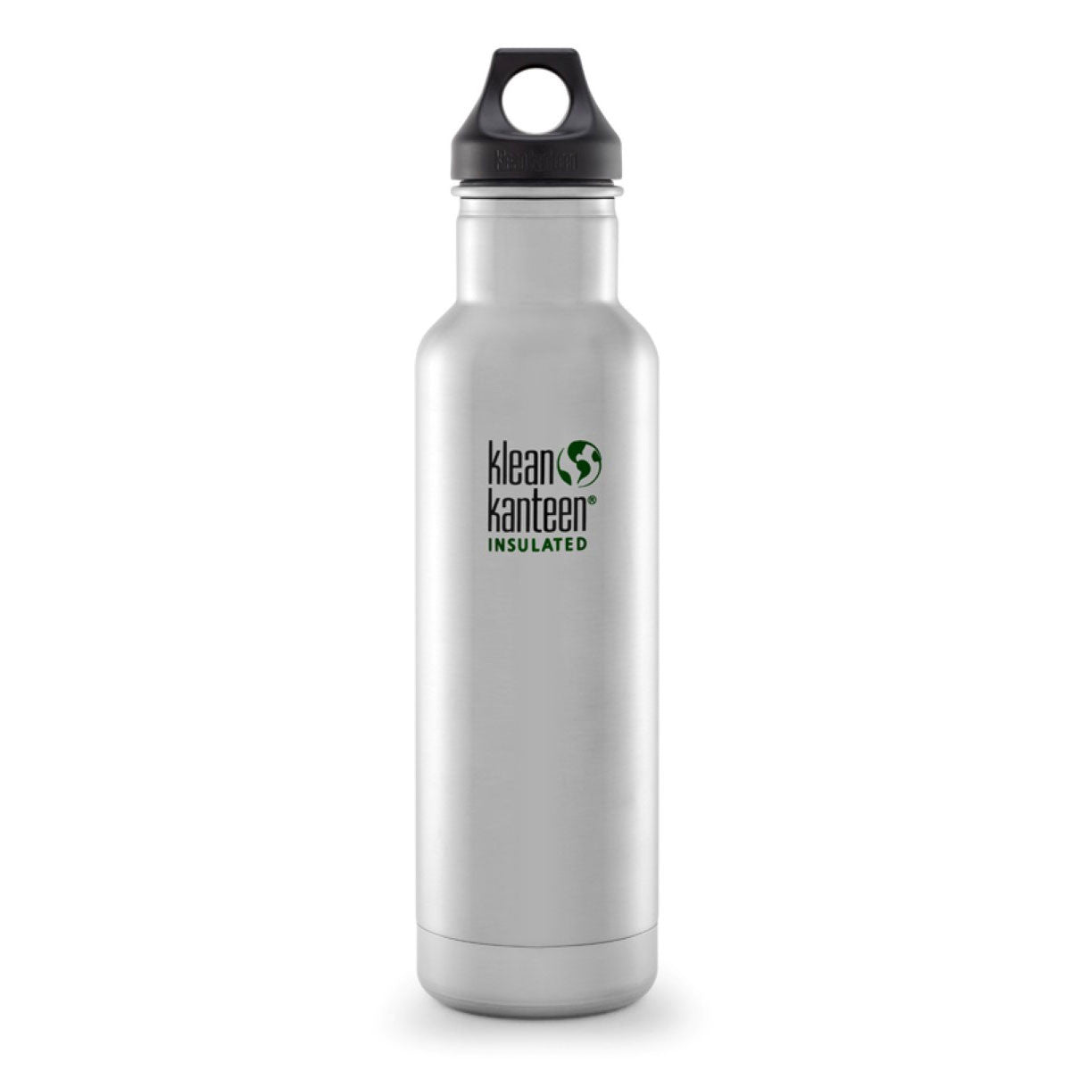 Klean Kanteen Stainless Steel Insulated Classic Water Bottle  592ml 20oz / Brushed Stainless - Klean Kanteen - Little Earth Nest - 10