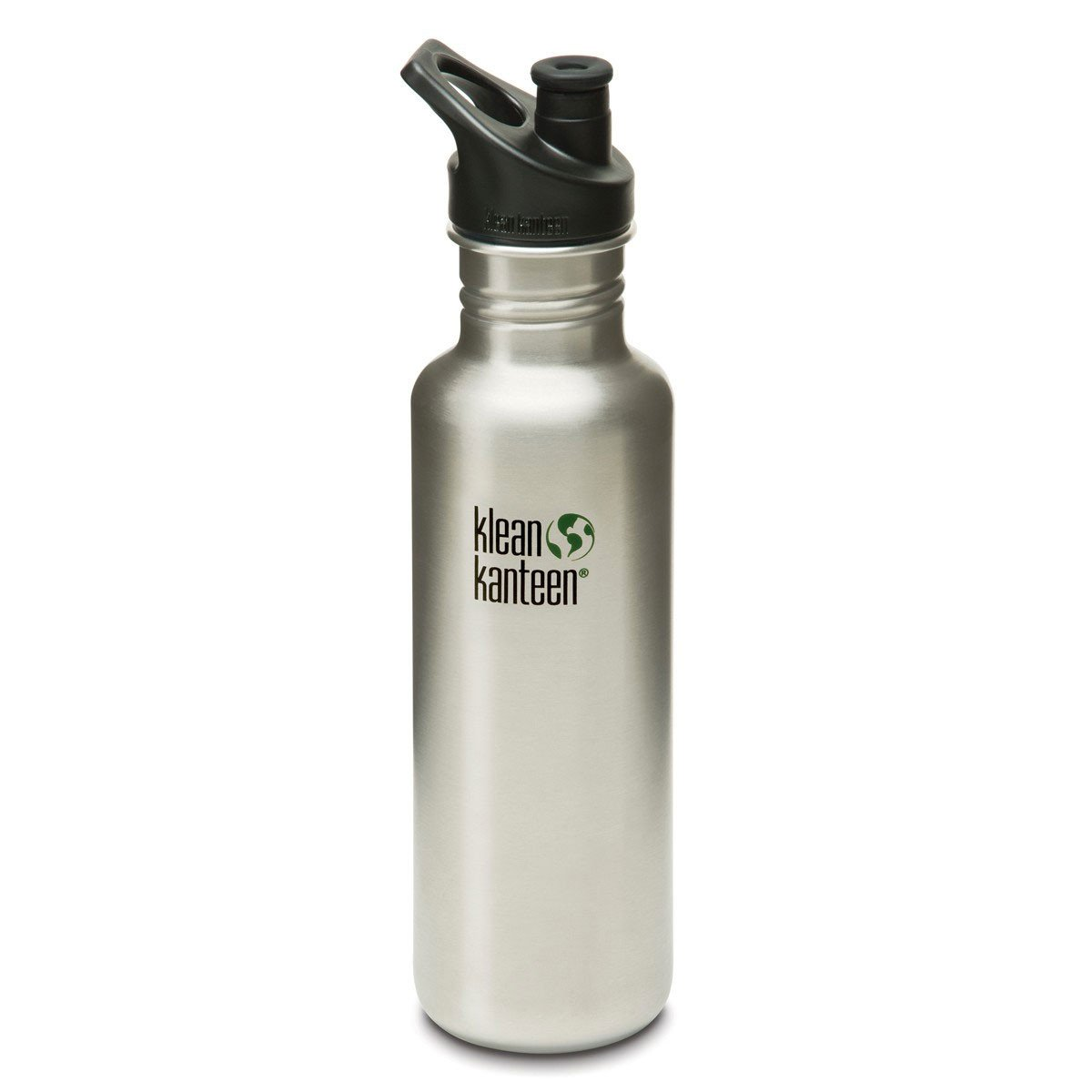 Klean Kanteen Stainless Steel Classic Water Bottle Klean Kanteen Water Bottles 800ml 27oz / Brushed Stainless at Little Earth Nest Eco Shop