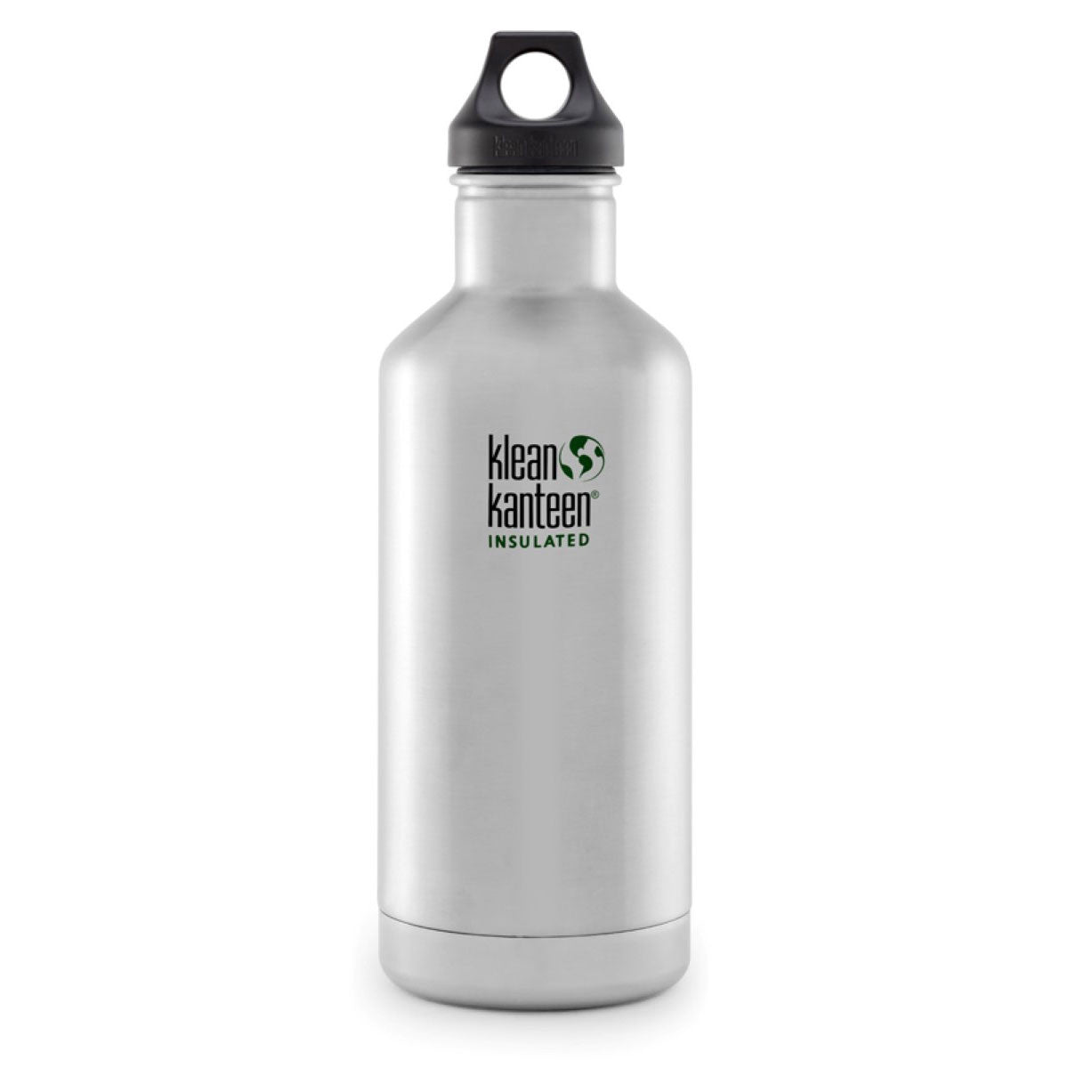 Klean Kanteen Stainless Steel Insulated Classic Water Bottle  946ml 32oz / Brushed Stainless - Klean Kanteen - Little Earth Nest - 26