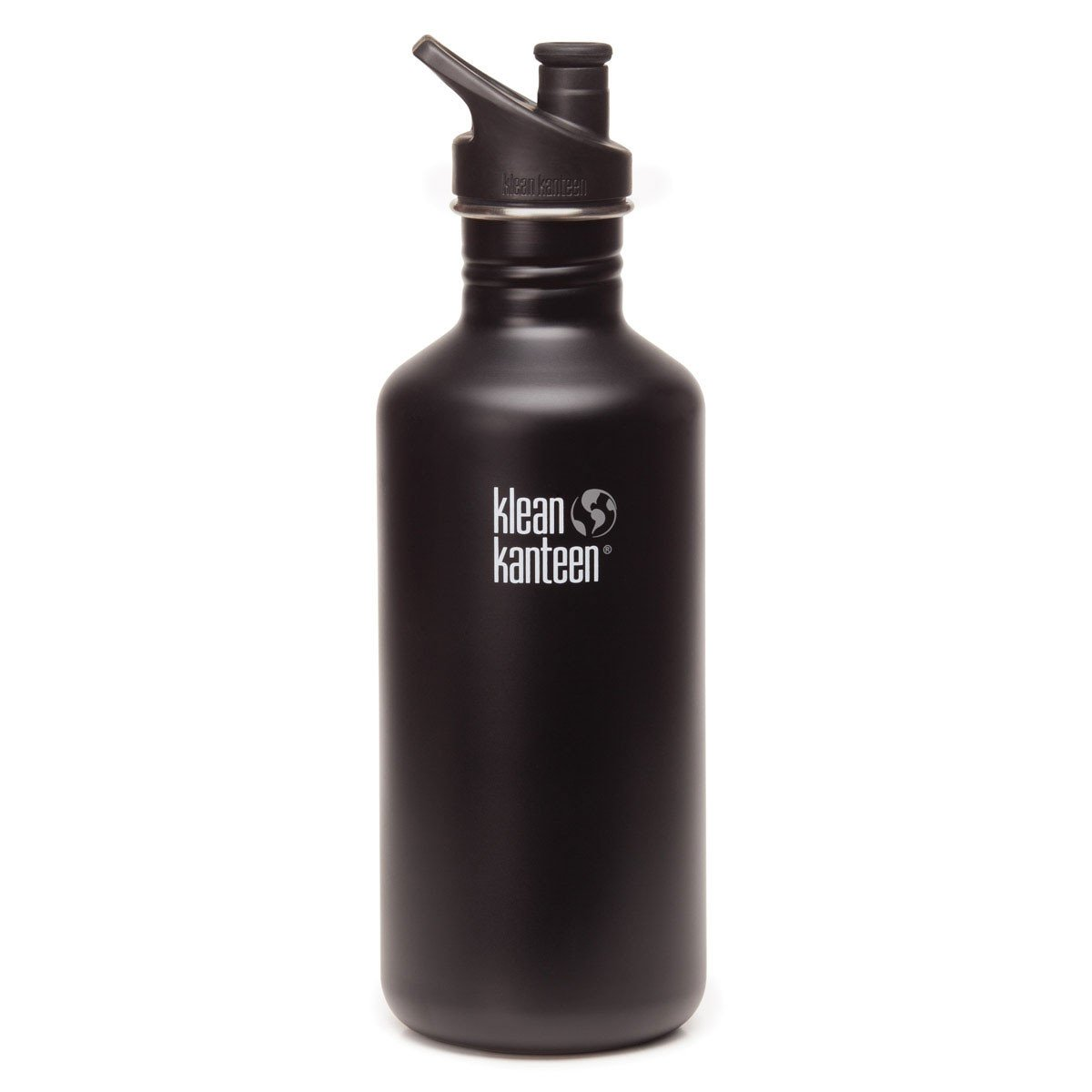 Klean Kanteen Stainless Steel Classic Water Bottle Klean Kanteen Water Bottles 1182ml 40oz / Shale Black at Little Earth Nest Eco Shop
