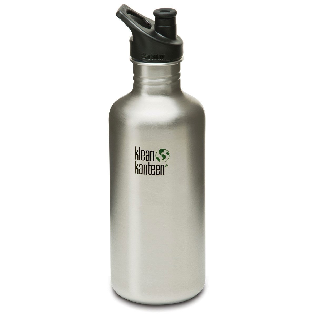 Klean Kanteen Stainless Steel Classic Water Bottle Klean Kanteen Water Bottles 1182ml 40oz / Brushed Stainless at Little Earth Nest Eco Shop