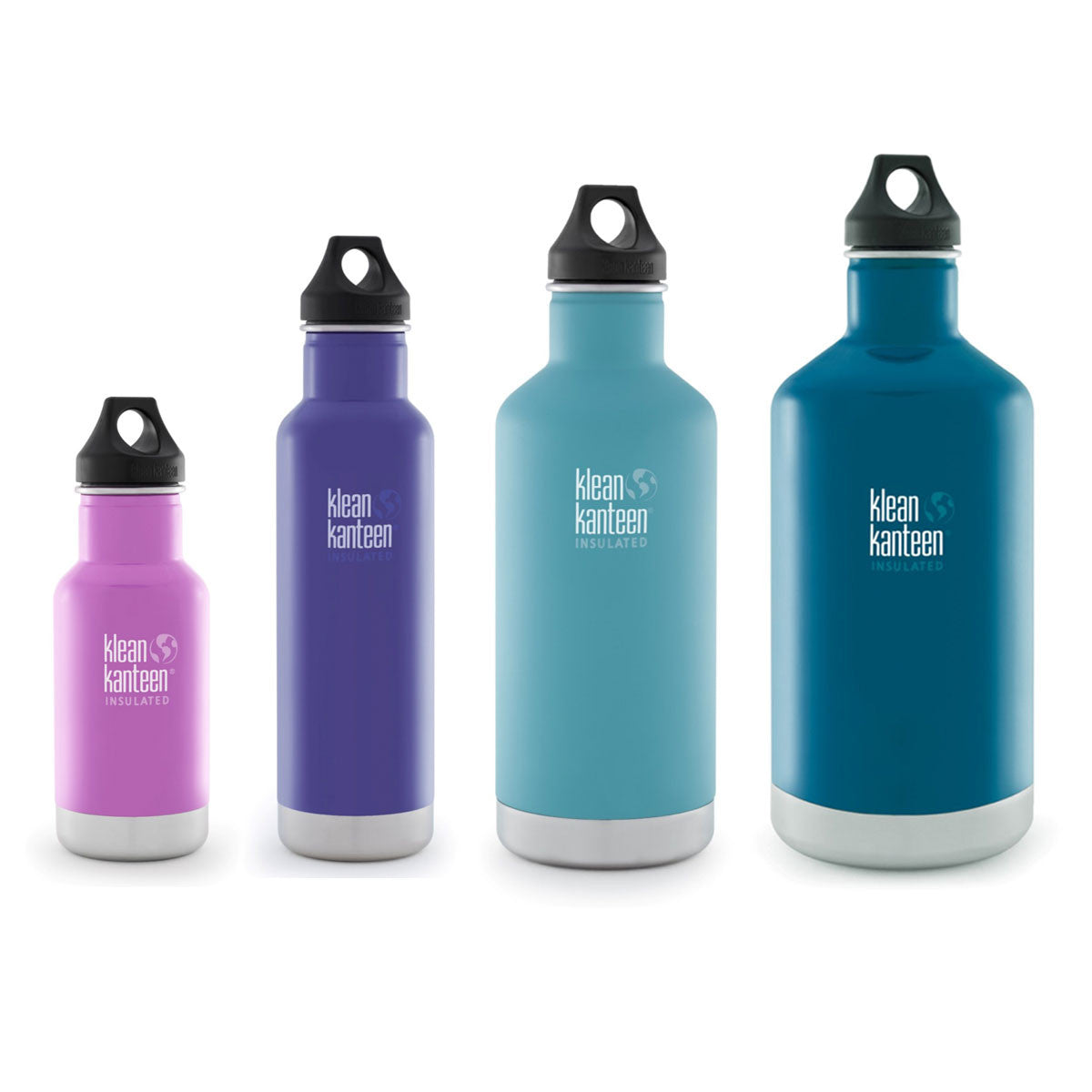 Klean Kanteen Stainless Steel Insulated Classic Water ...