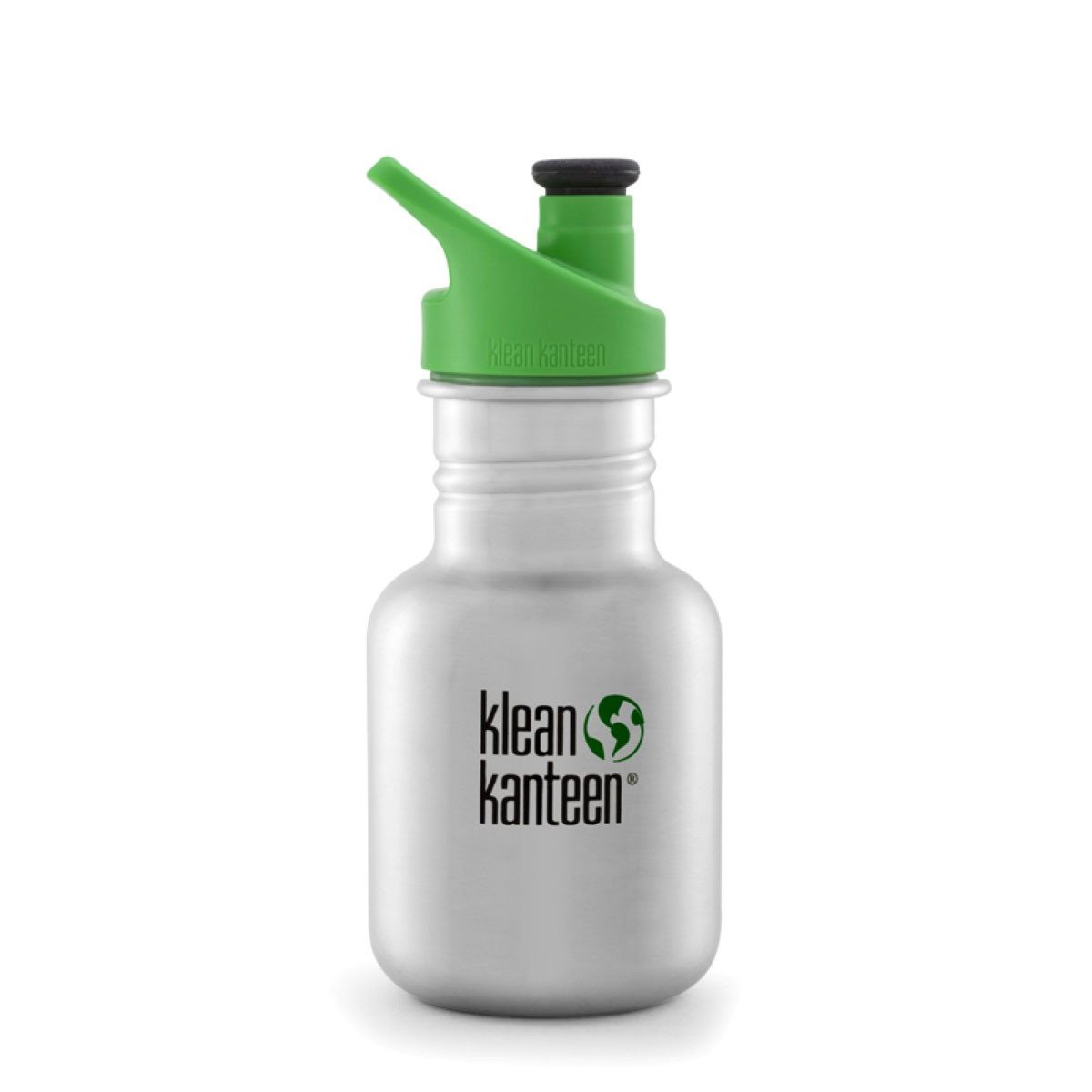 Klean Kanteen Kid Kanteen 355ml 12oz Stainless Steel Bottle Klean Kanteen Sippy Cups Sport / Brushed Stainless at Little Earth Nest Eco Shop
