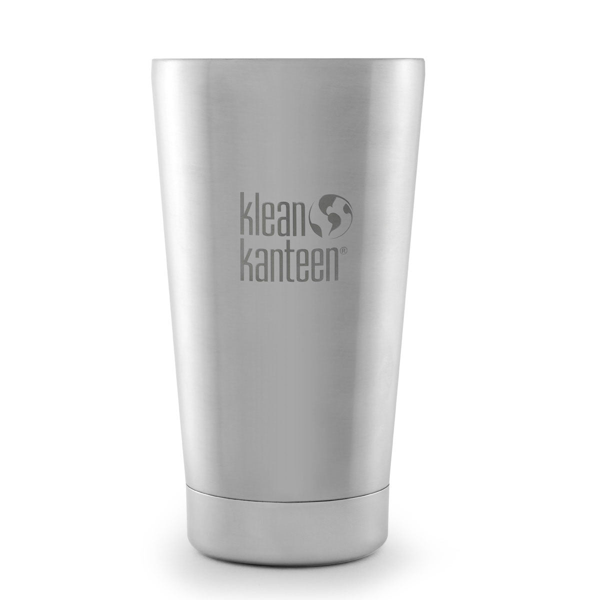 Klean Kanteen Stainless Steel Insulated Tumbler Mug Klean Kanteen Thermoses Brushed Stainless / 473ML 16OZ at Little Earth Nest Eco Shop