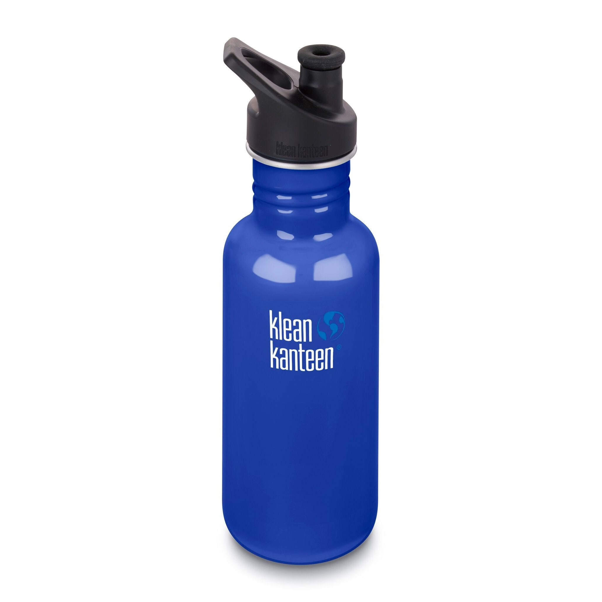 Klean Kanteen Stainless Steel Classic Water Bottle Klean Kanteen Water Bottles 532ml 18oz / Coastal Waters at Little Earth Nest Eco Shop