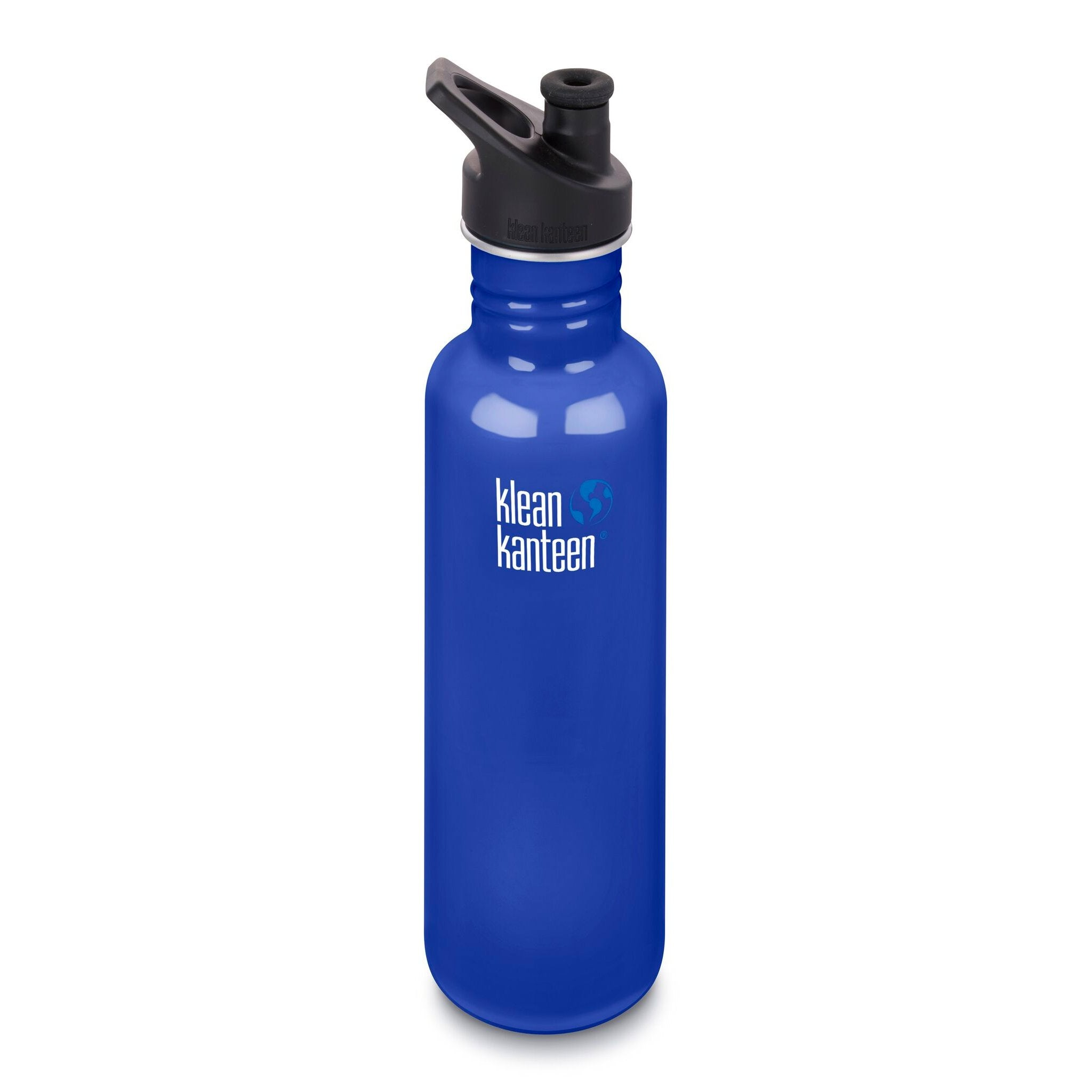 Klean Kanteen Stainless Steel Classic Water Bottle Klean Kanteen Water Bottles 800ml 27oz / Coastal Waters at Little Earth Nest Eco Shop