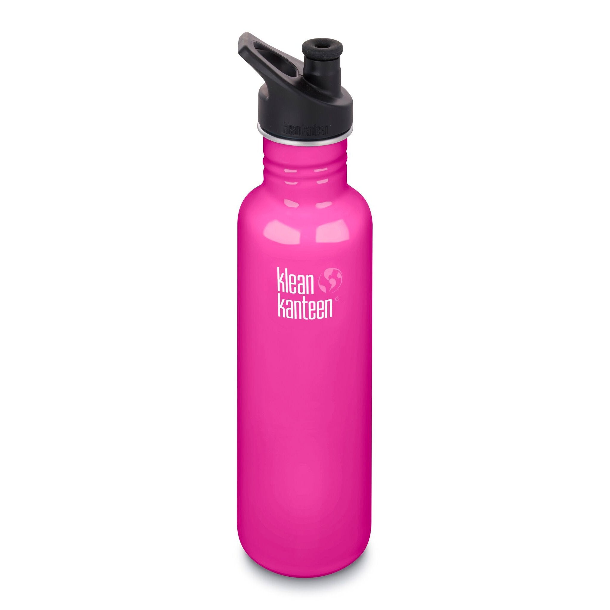 Klean Kanteen Stainless Steel Classic Water Bottle Klean Kanteen Water Bottles 800ml 27oz / Wild Orchid at Little Earth Nest Eco Shop