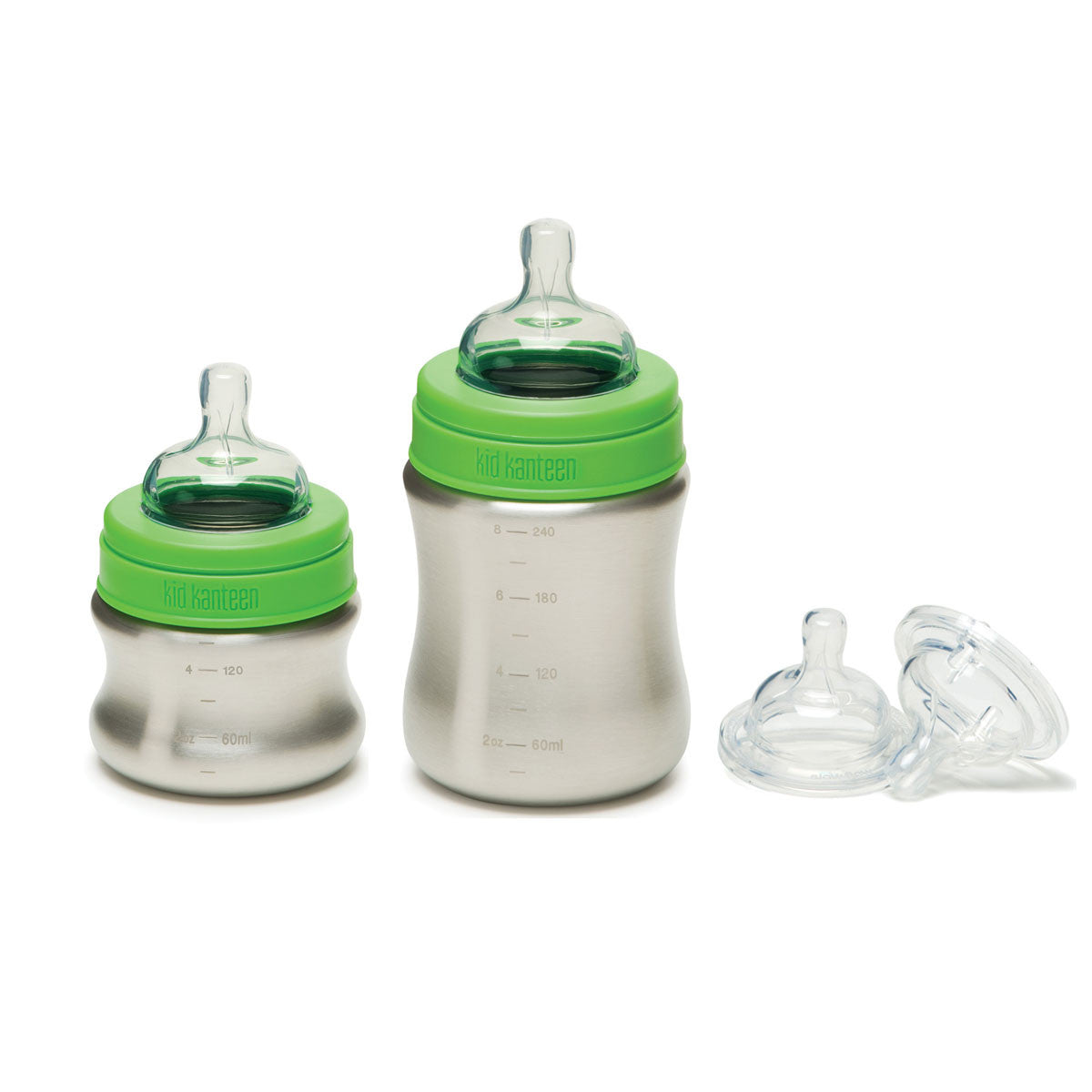 Klean Kanteen Stainless Steel Baby Bottle   - Klean Kanteen - Little Earth Nest - 1