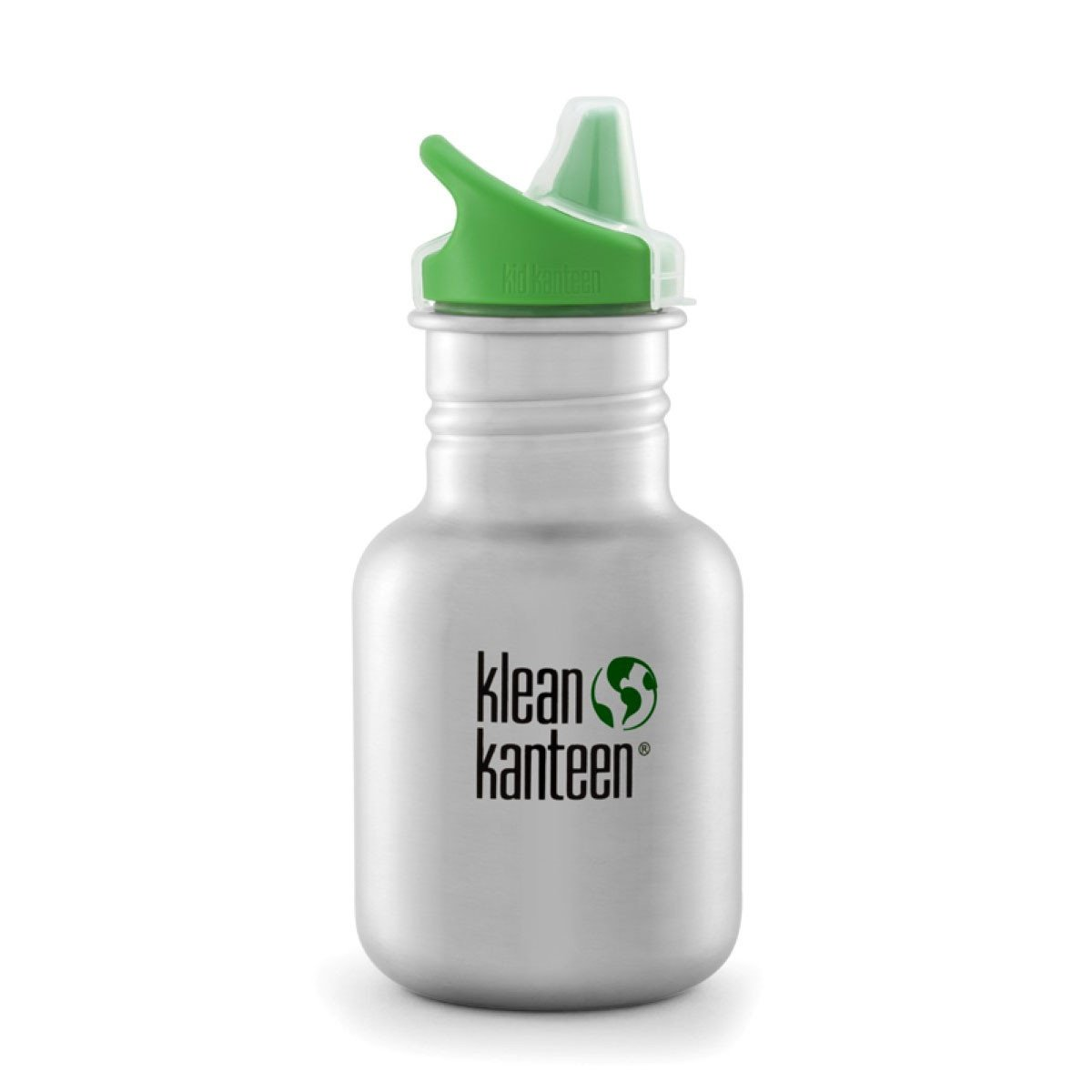 Klean Kanteen Kid Kanteen 355ml 12oz Stainless Steel Bottle Klean Kanteen Sippy Cups Sippy / Brushed Stainless at Little Earth Nest Eco Shop