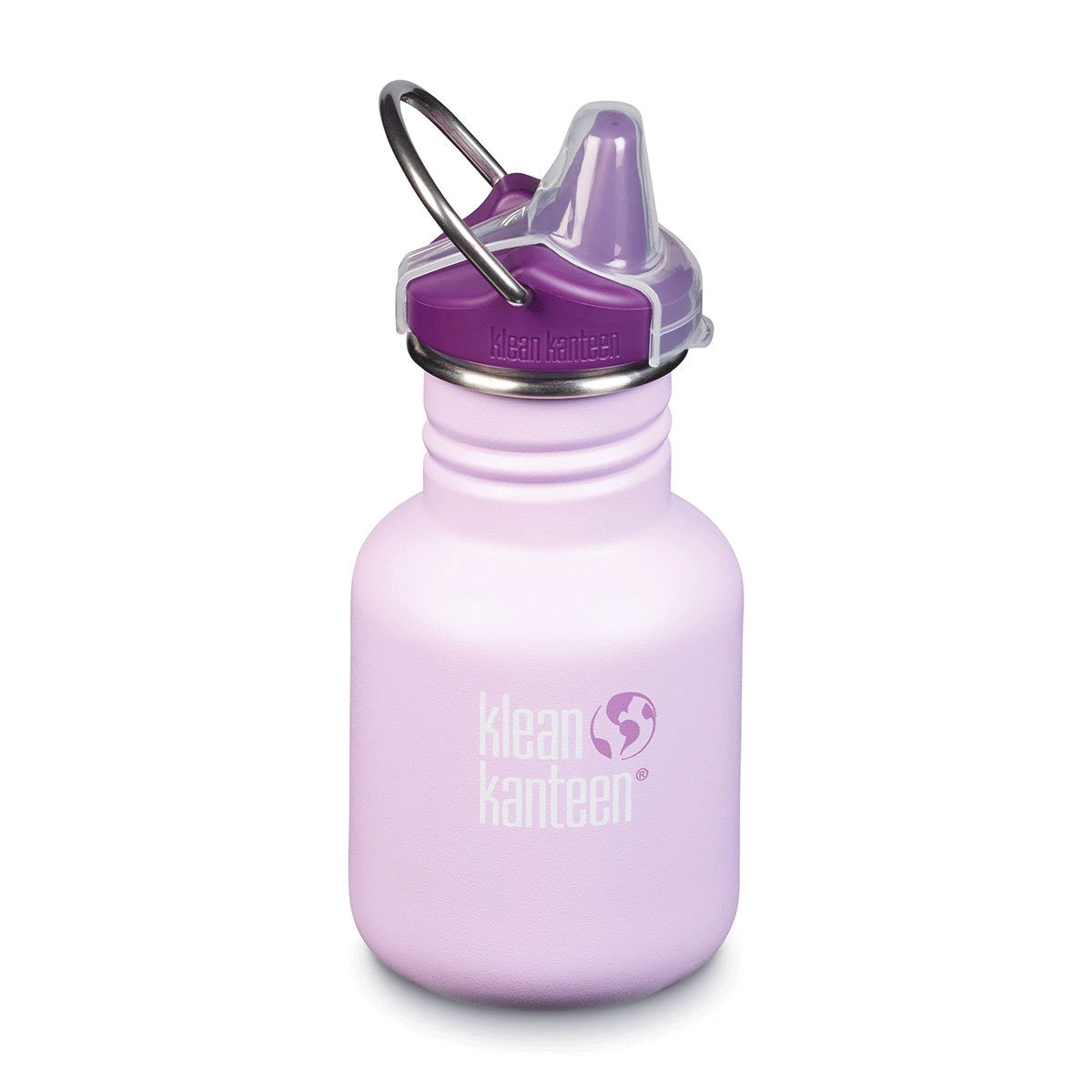 Klean Kanteen Kid Kanteen 355ml 12oz Stainless Steel Bottle Klean Kanteen Sippy Cups Sippy / Sugarplum Fairy at Little Earth Nest Eco Shop