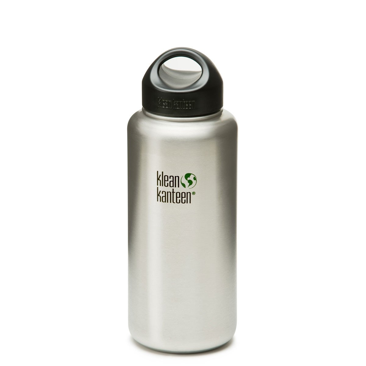 Klean Kanteen Stainless Steel Wide Mouth Bottle Klean Kanteen Water Bottles 1182ml 40oz at Little Earth Nest Eco Shop