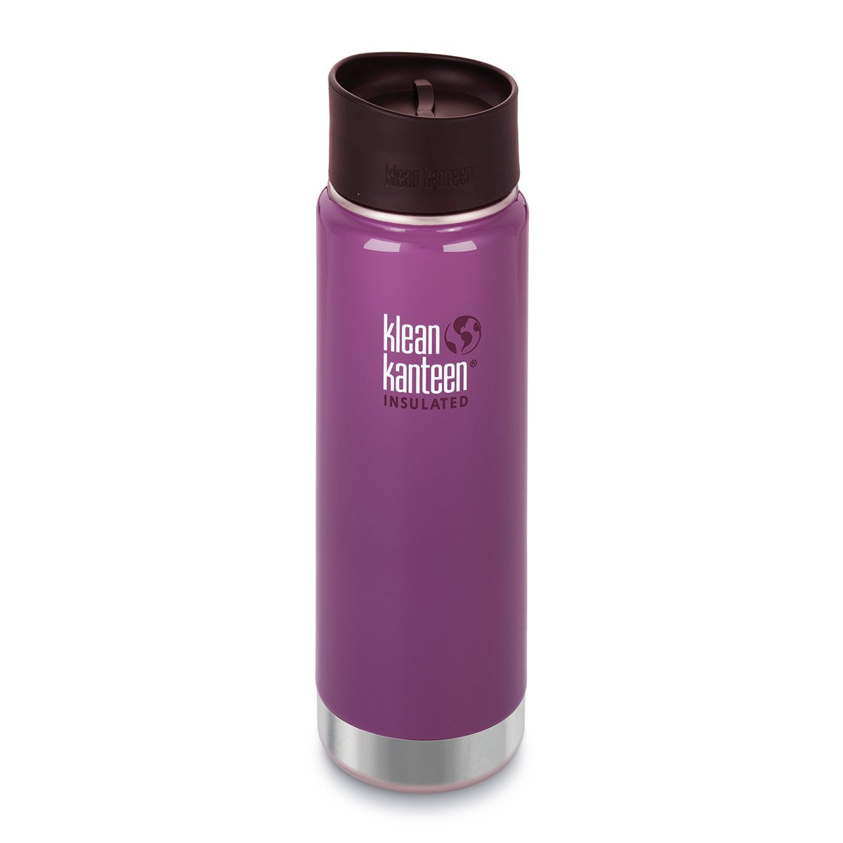 Klean Kanteen Wide Mouth Insulated Stainless Steel Water Bottle