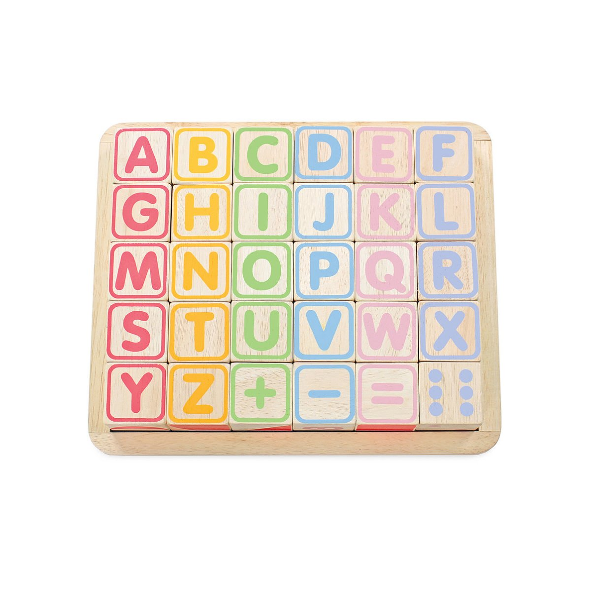 Le Toy Van ABC Wooden Blocks Le Toy Van Wooden Blocks at Little Earth Nest Eco Shop
