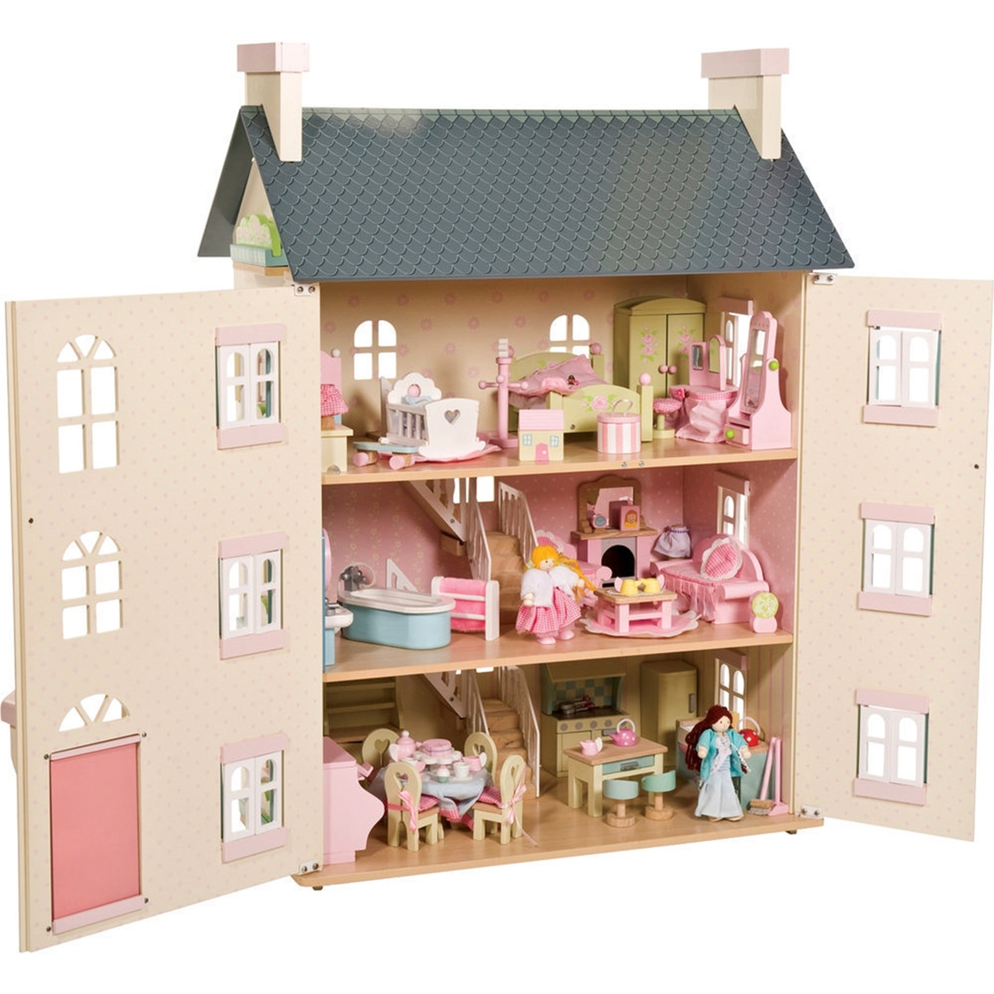 Captivating ... Le Toy Van Cherry Tree Hall Dollu0027s House   Le Toy Van   Little Earth  Nest ...