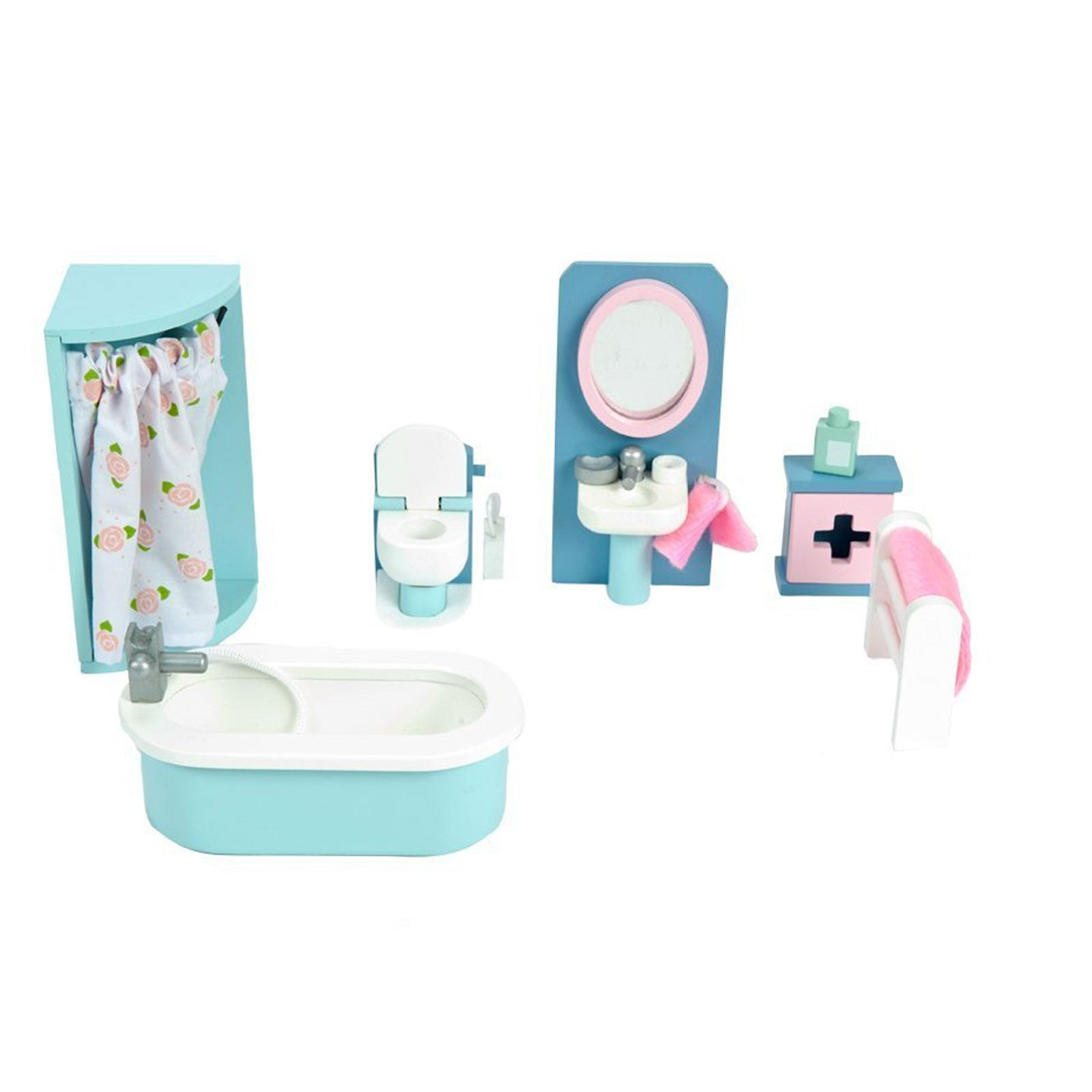 Le Toy Van Dolls House Furniture Le Toy Van Dollhouse Accessories Bathroom at Little Earth Nest Eco Shop
