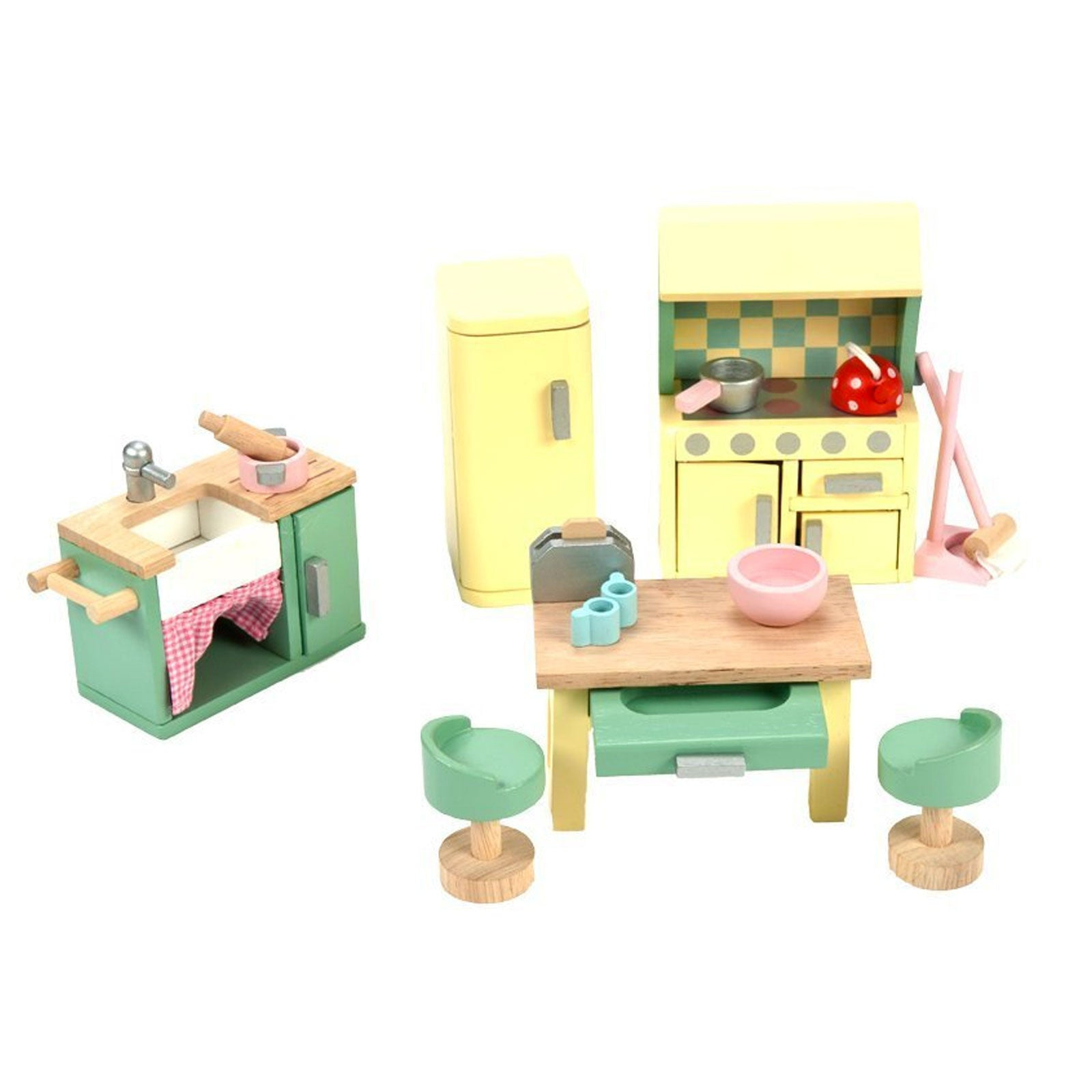 Le Toy Van Dolls House Furniture Le Toy Van Dollhouse Accessories Kitchen at Little Earth Nest Eco Shop