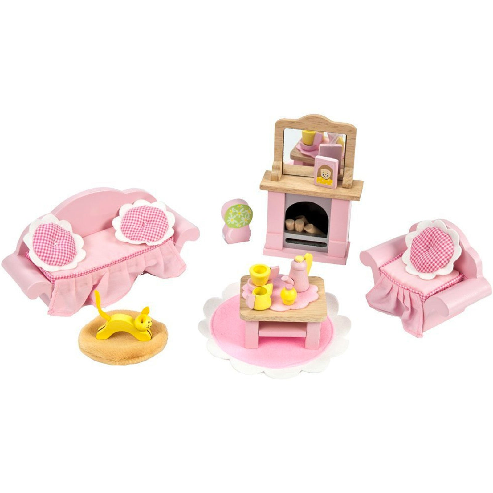 Le Toy Van Dolls House Furniture Le Toy Van Dollhouse Accessories Sitting Room at Little Earth Nest Eco Shop