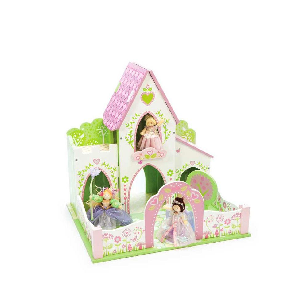 Le Toy Van Fairybelle Castle Le Toy Van Dollshouses at Little Earth Nest Eco Shop