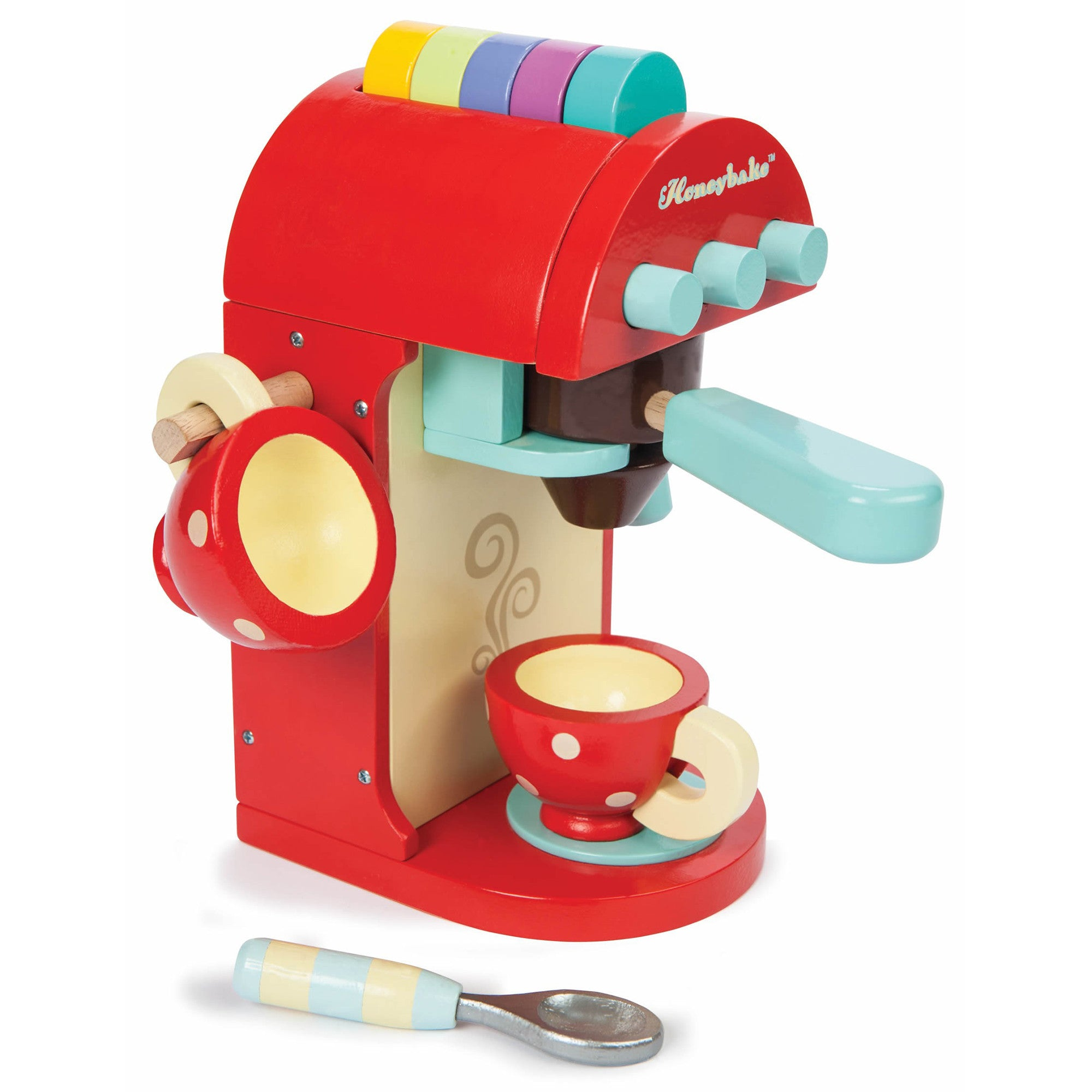 Le Toy Van Cafe Espresso Machine Le Toy Van Toy Kitchens & Play Food at Little Earth Nest Eco Shop