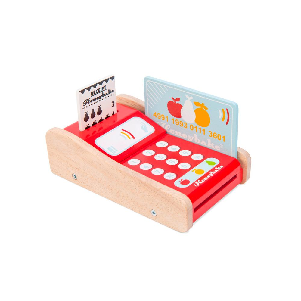 Le Toy Van Card Machine Le Toy Van Toys at Little Earth Nest Eco Shop