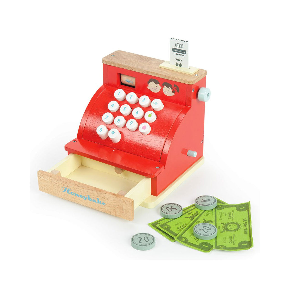 Le Toy Van Cash Register Le Toy Van Pretend Play at Little Earth Nest Eco Shop