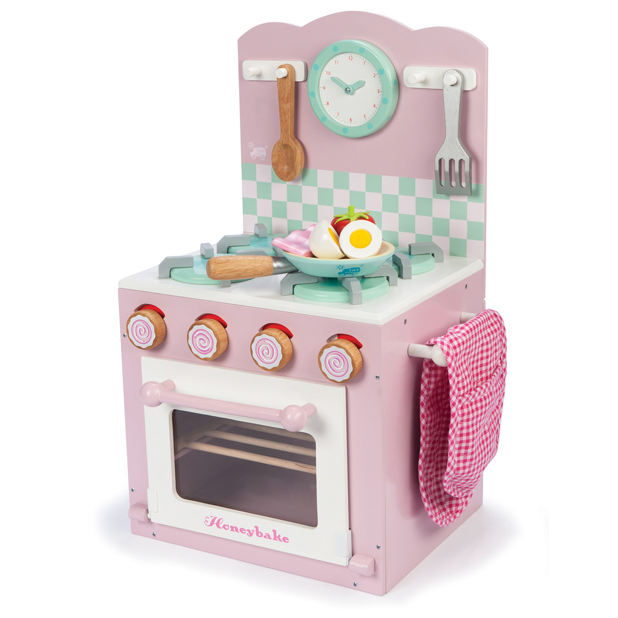 Le Toy Van Honeybake Home Kitchen Oven Le Toy Van Toy Kitchens & Play Food at Little Earth Nest Eco Shop