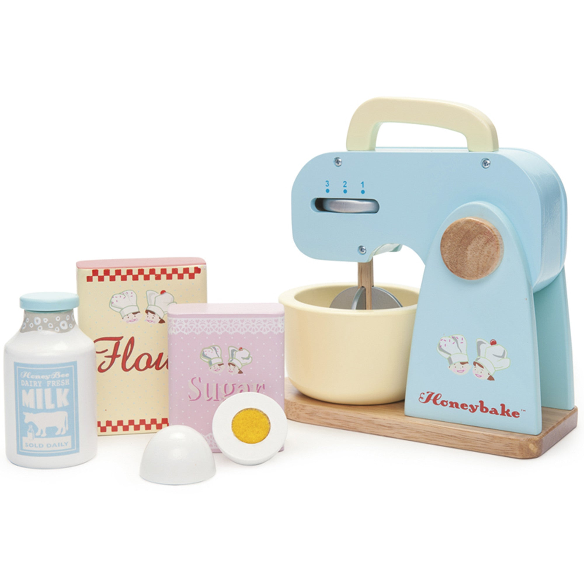 Le Toy Van Honeybake Mixer Le Toy Van Toy Kitchens & Play Food at Little Earth Nest Eco Shop